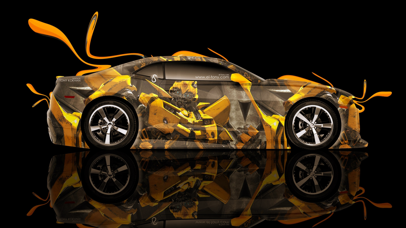 Chevrolet Camaro Transformers Bumblebee Car Hd Wallpaper