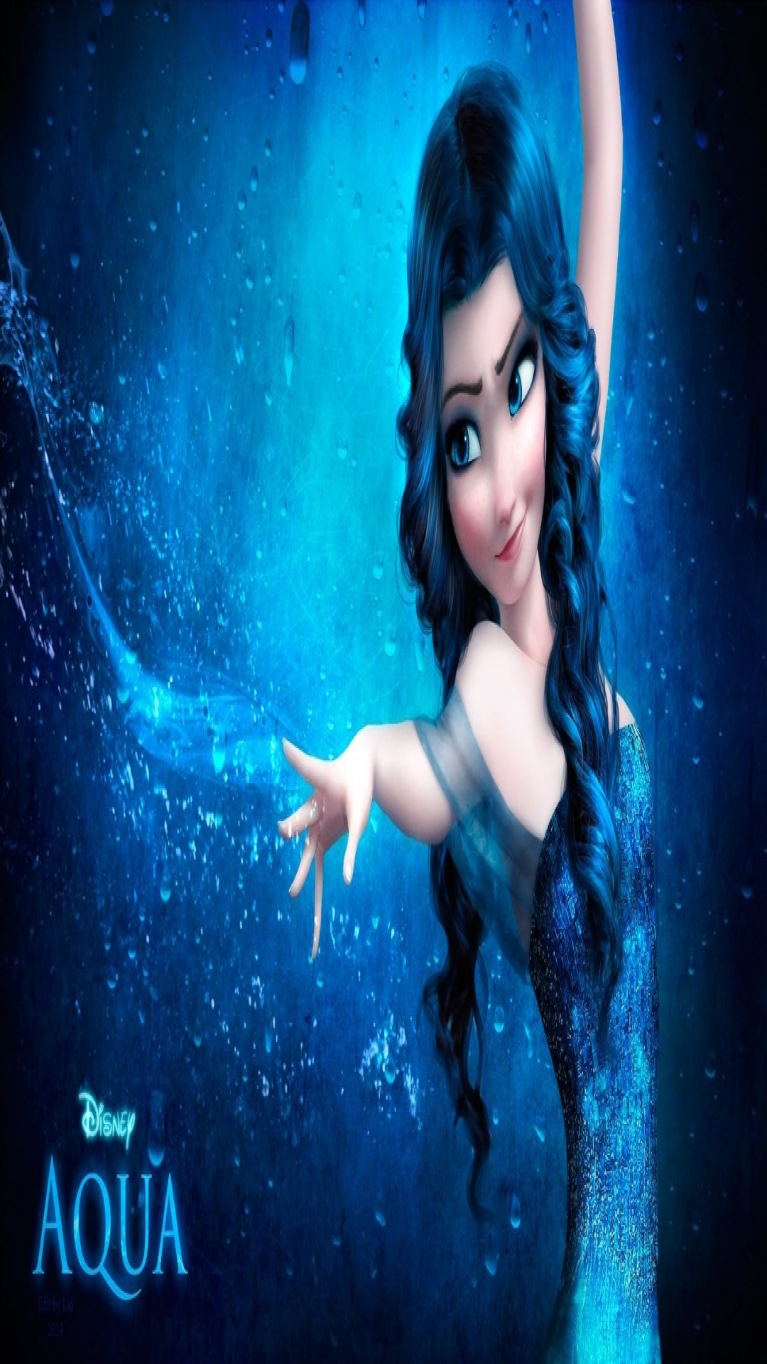 Disney princess aqua hd wallpaper tablet and mobile devices altavistaventures Choice Image