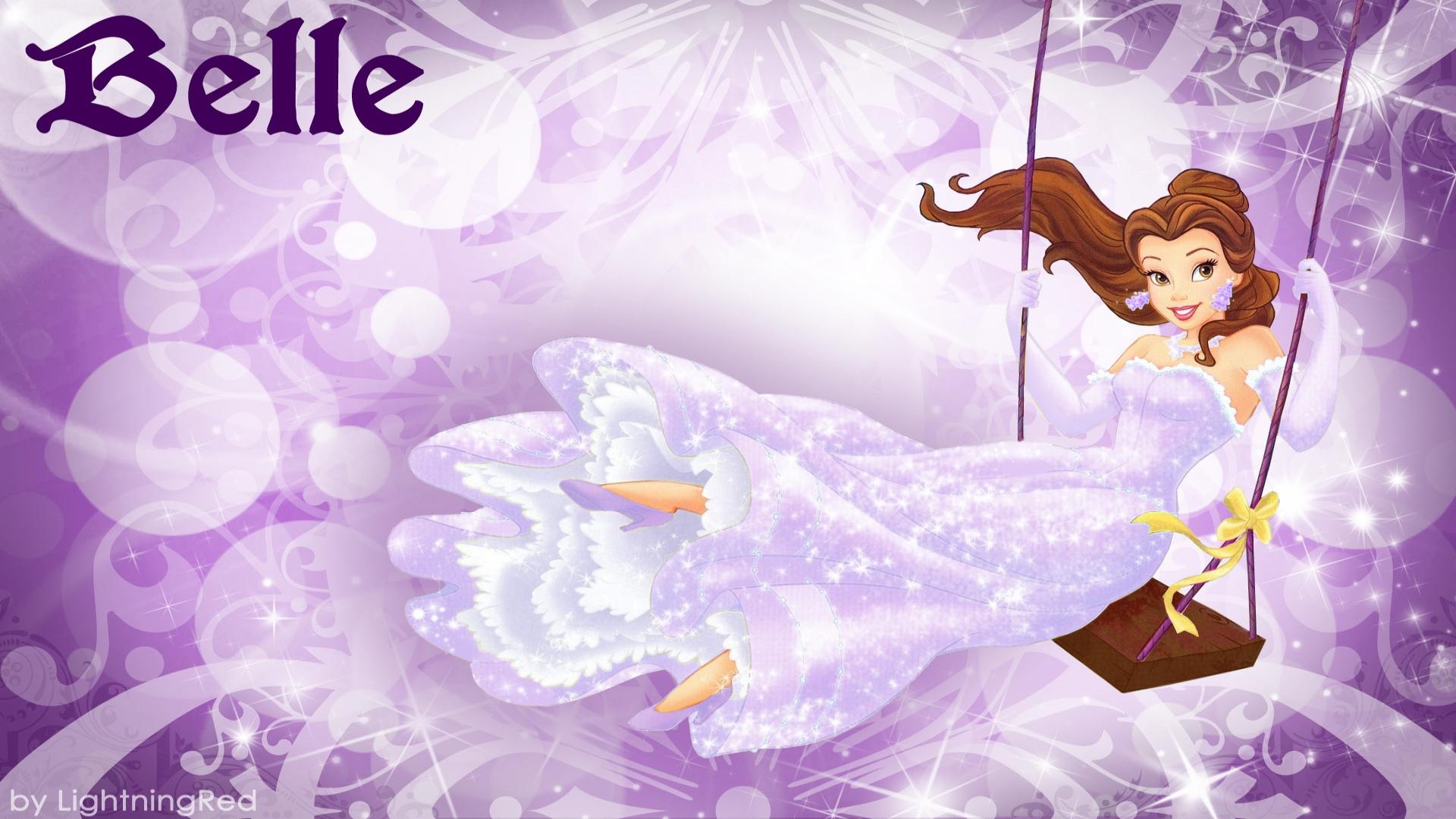 Disney Princess Belle Pictures Desktop Background