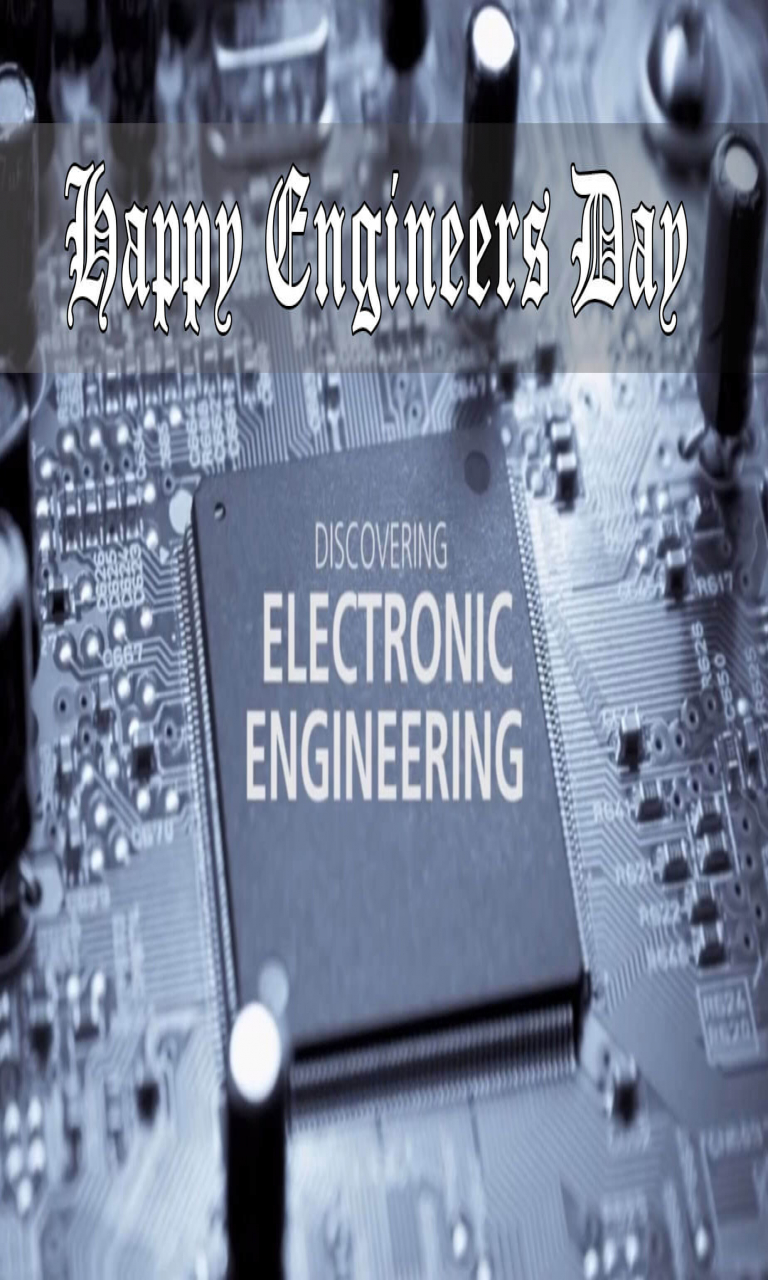 Happy Engineers Day Electronic Greetings Wishes Picture Hd Wallpaper