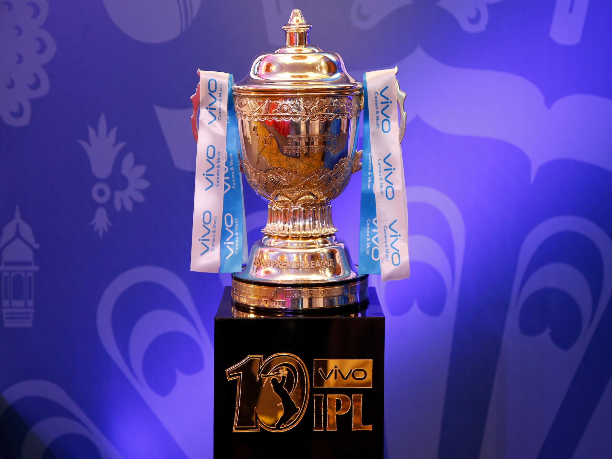 Ipl T20 2018 Trophy Cup Hd Wallpaper