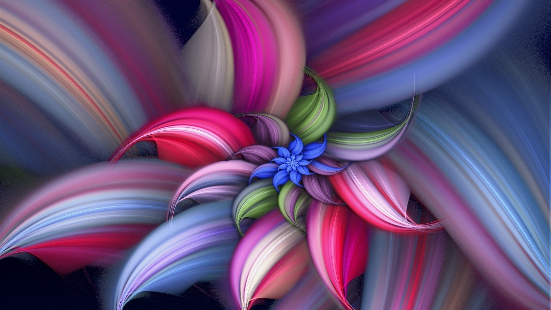 abstract flower free download