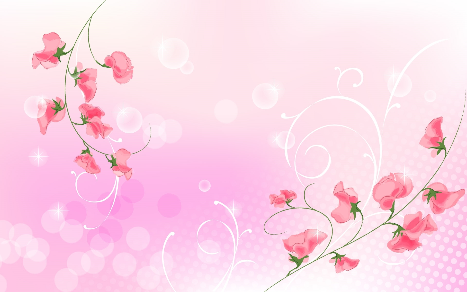 abstract flower free wallpapers