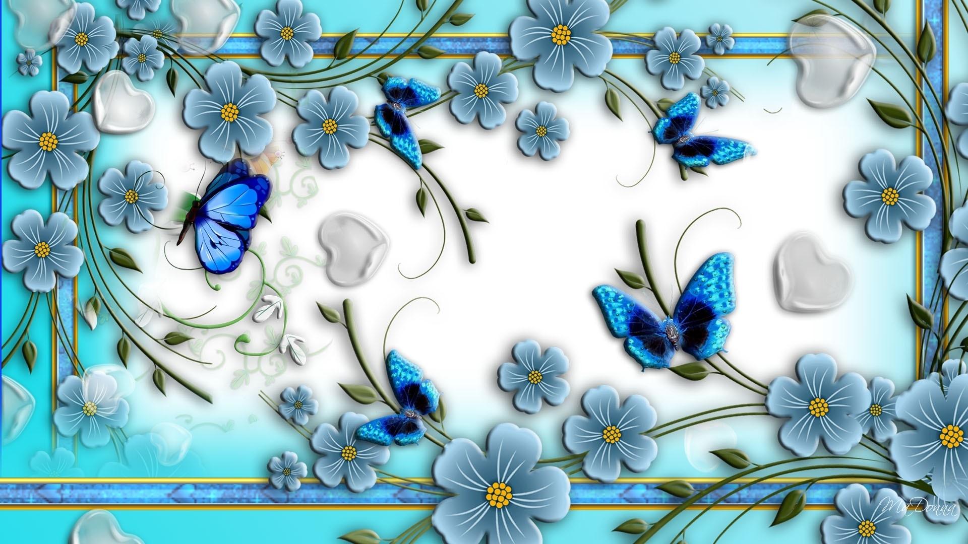 abstract flower hd deskto