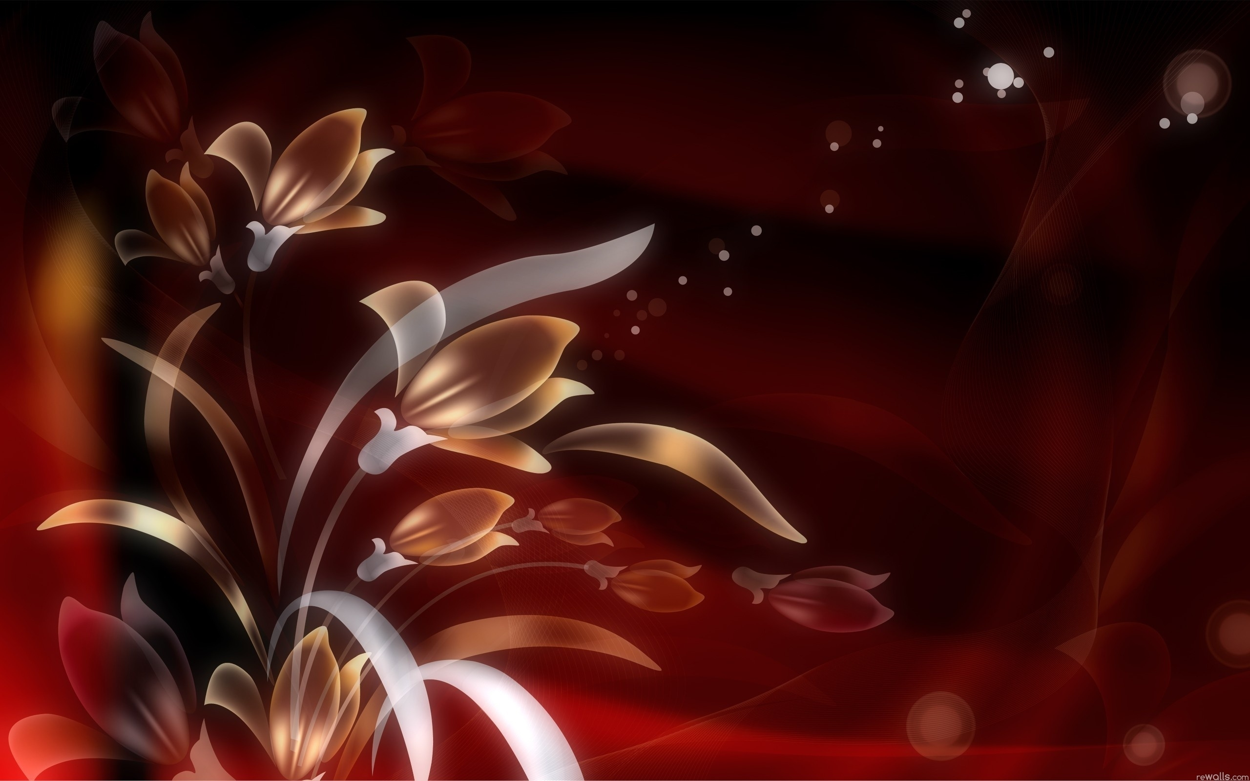abstract flower hd
