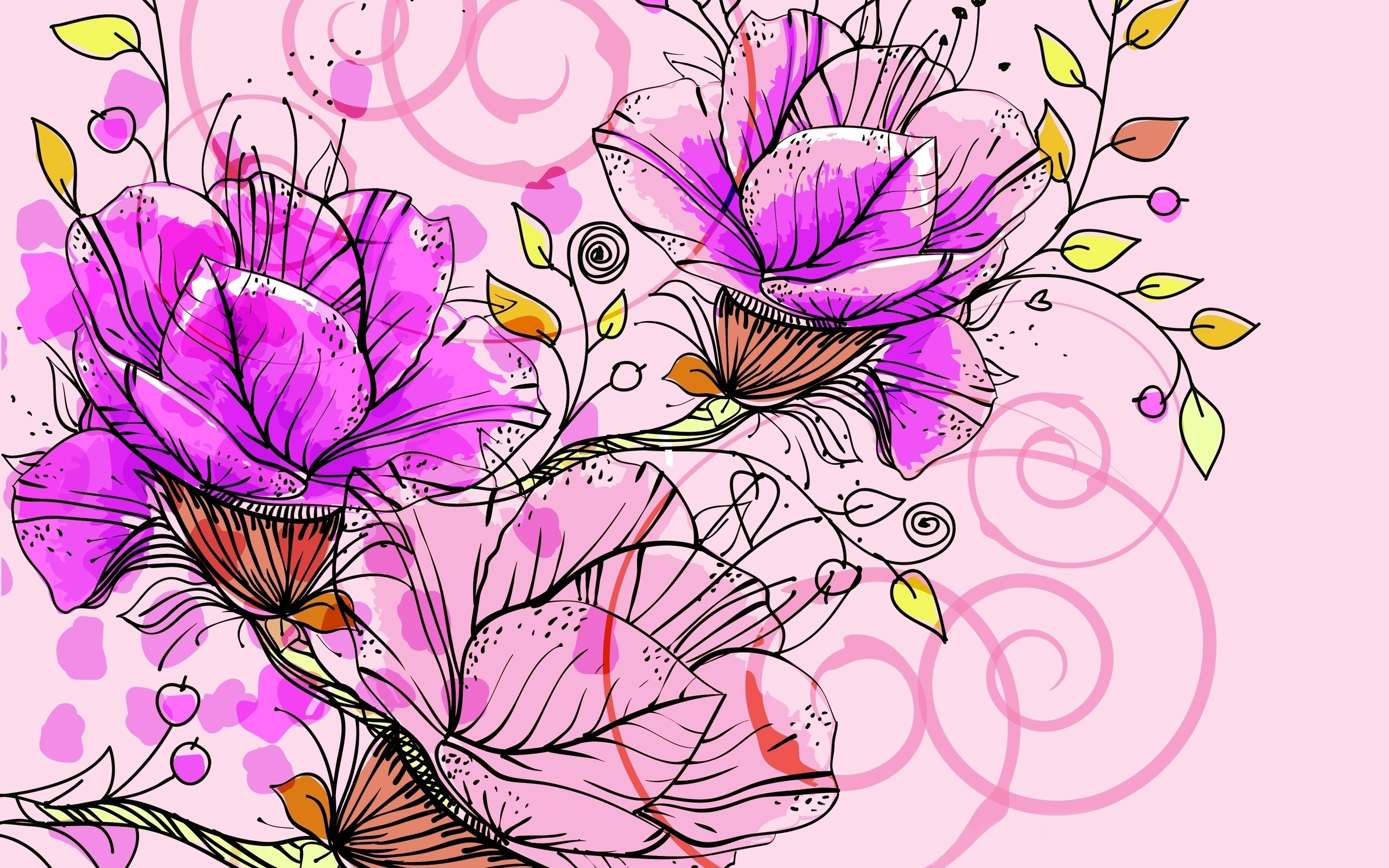 abstract flower high quality wallpapers