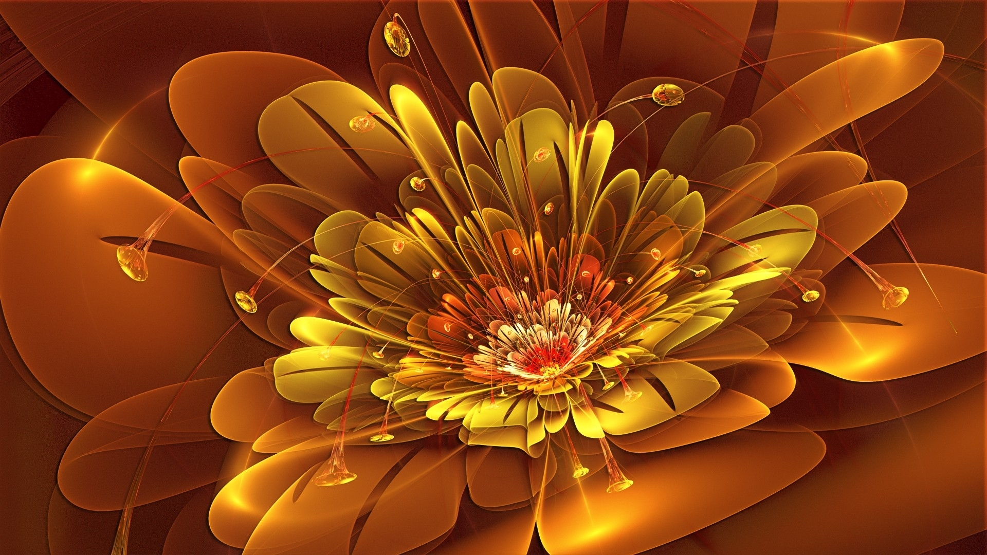 abstract flower mobile wallppaers