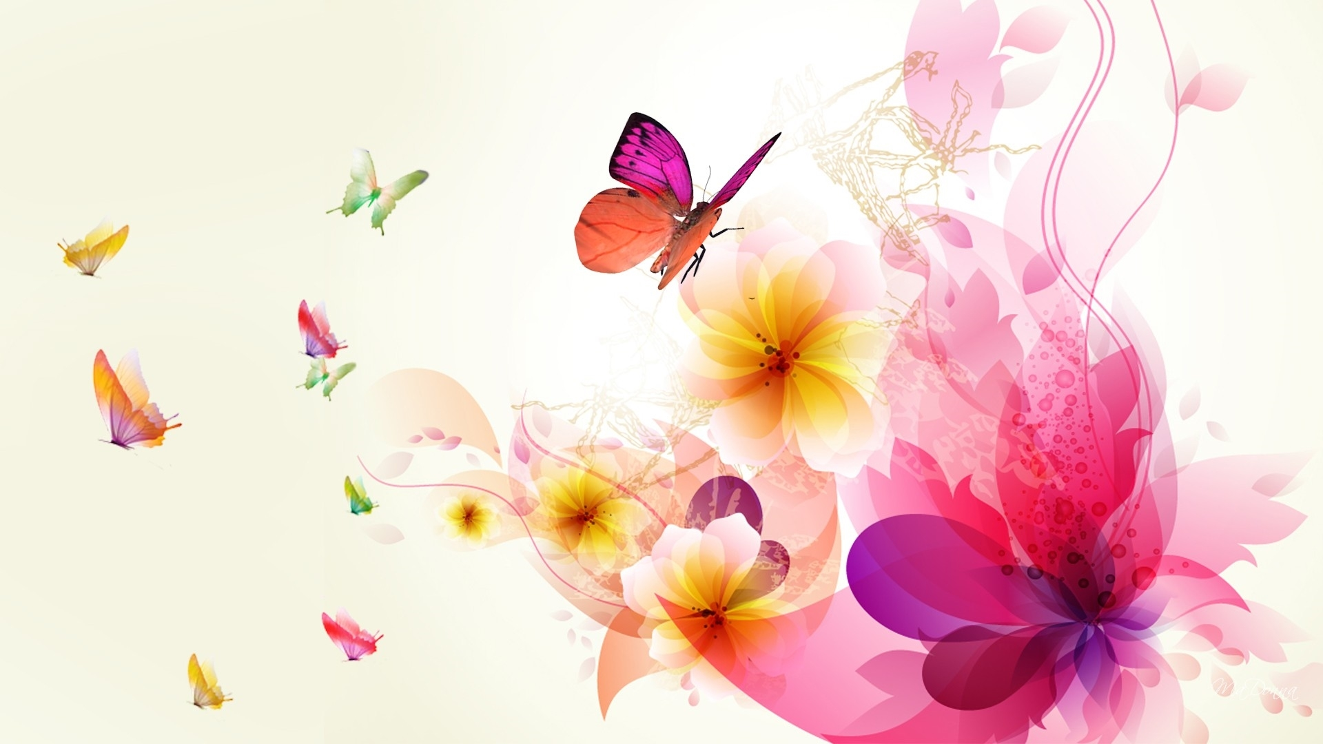 abstract flower new wallpapers