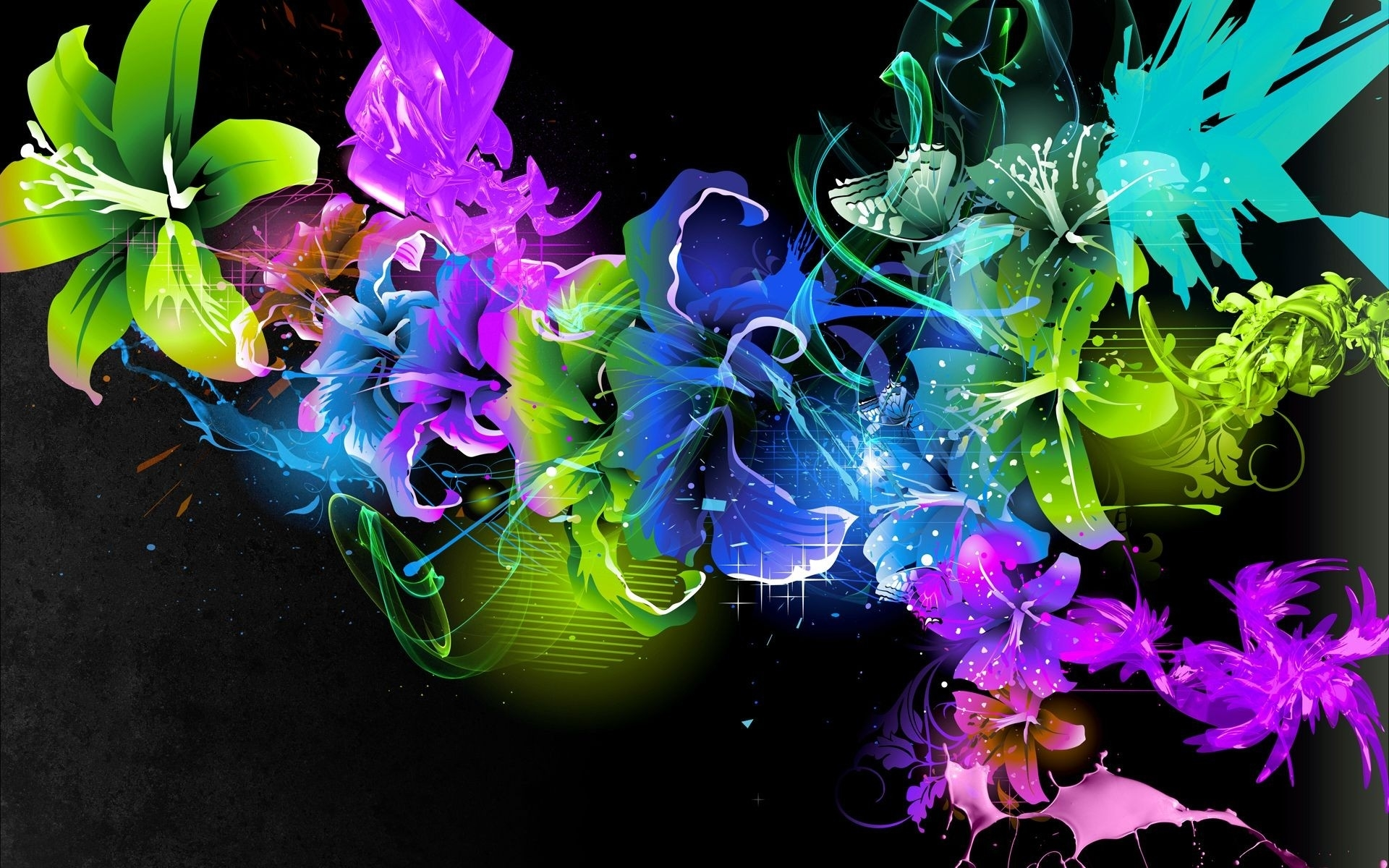 abstract flower wallpapers for deskto