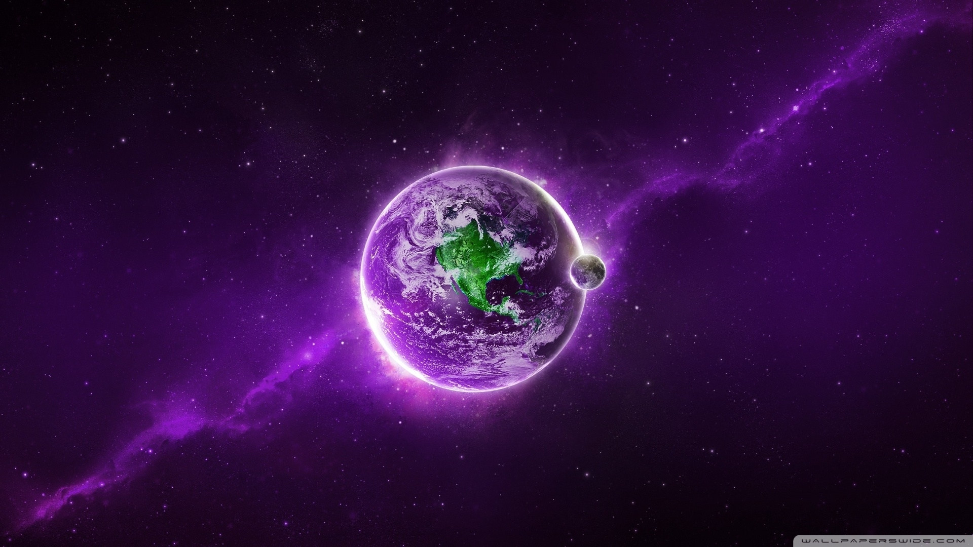 purple abstract hd background