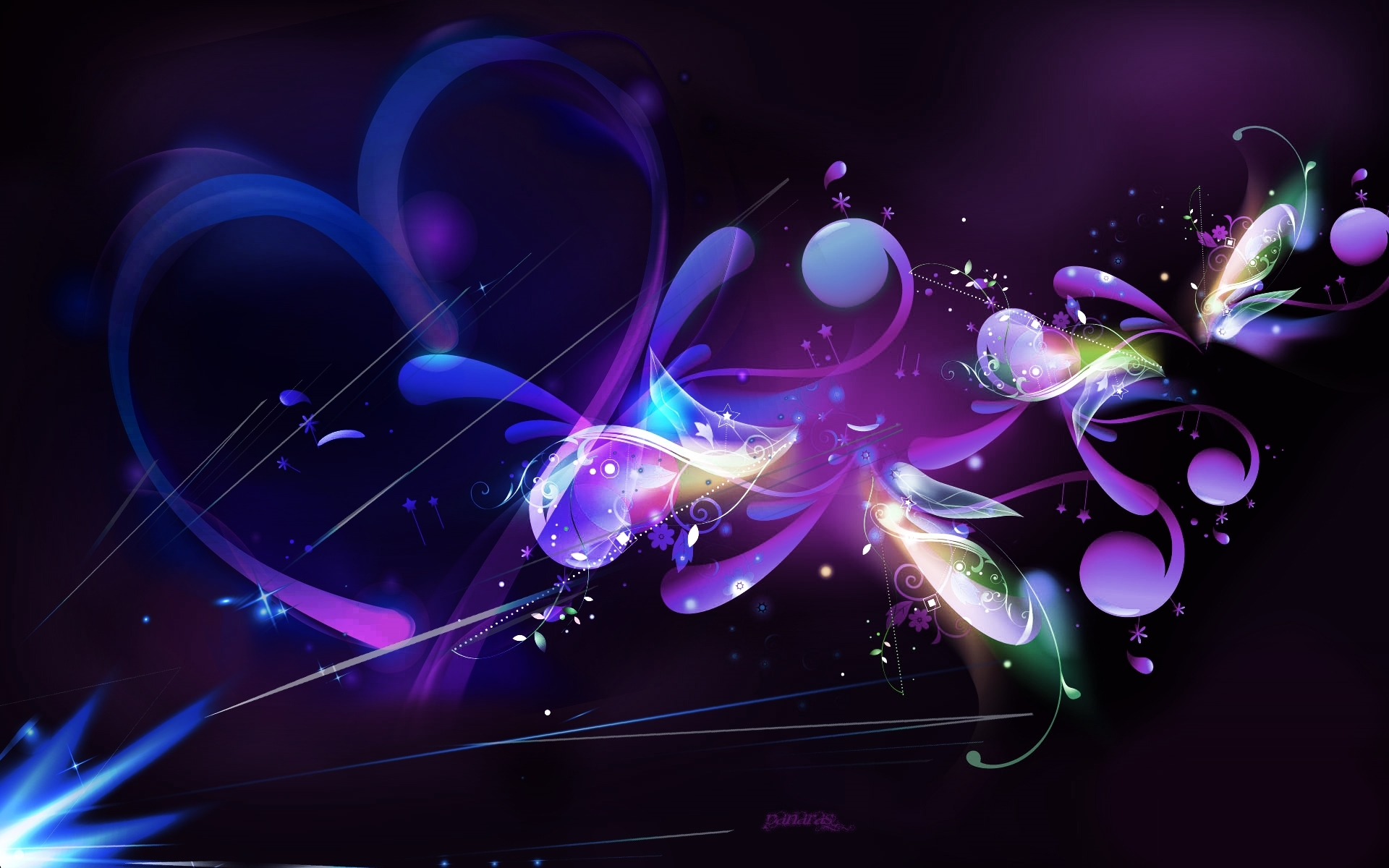 purple abstract pic