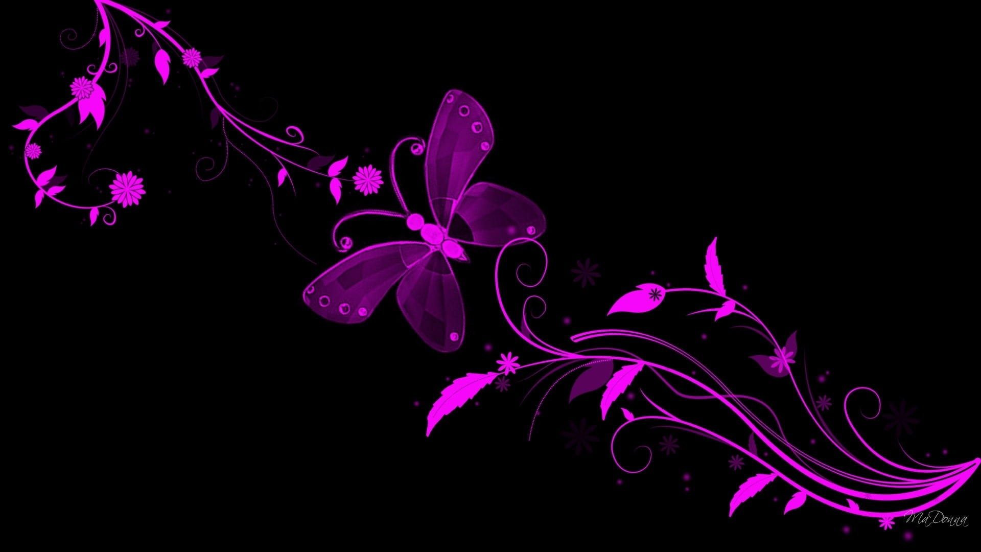 purple abstract pictures