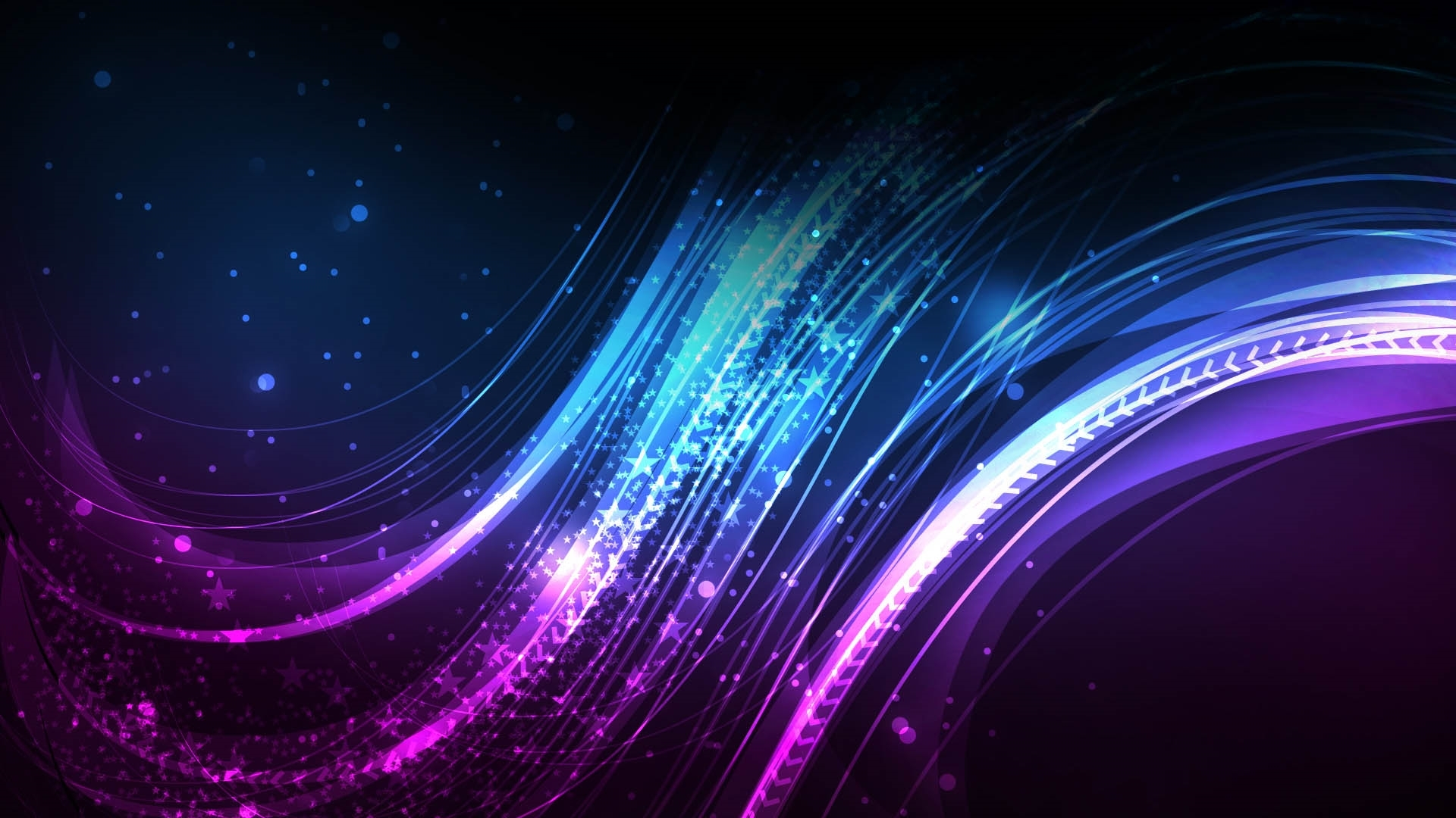 purple abstract widescreen