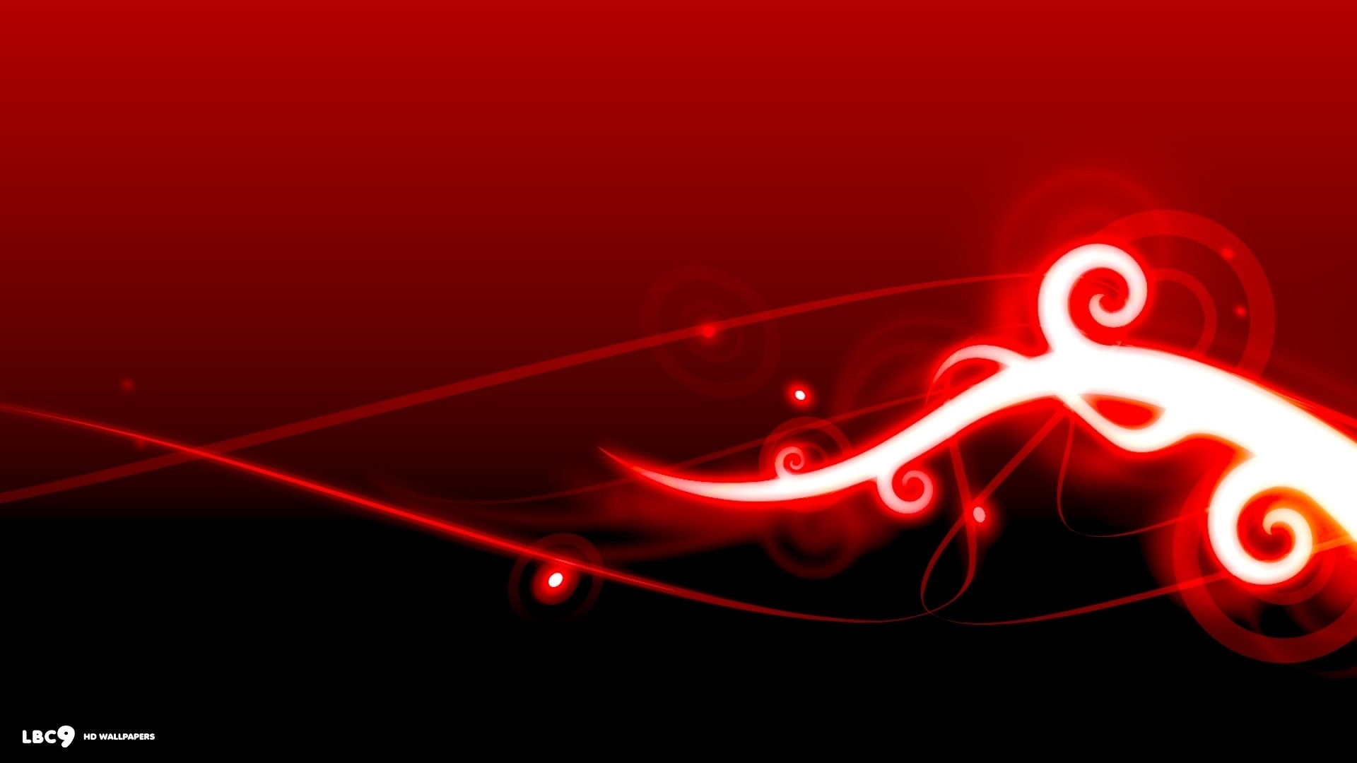 red abstract pc wallpapers