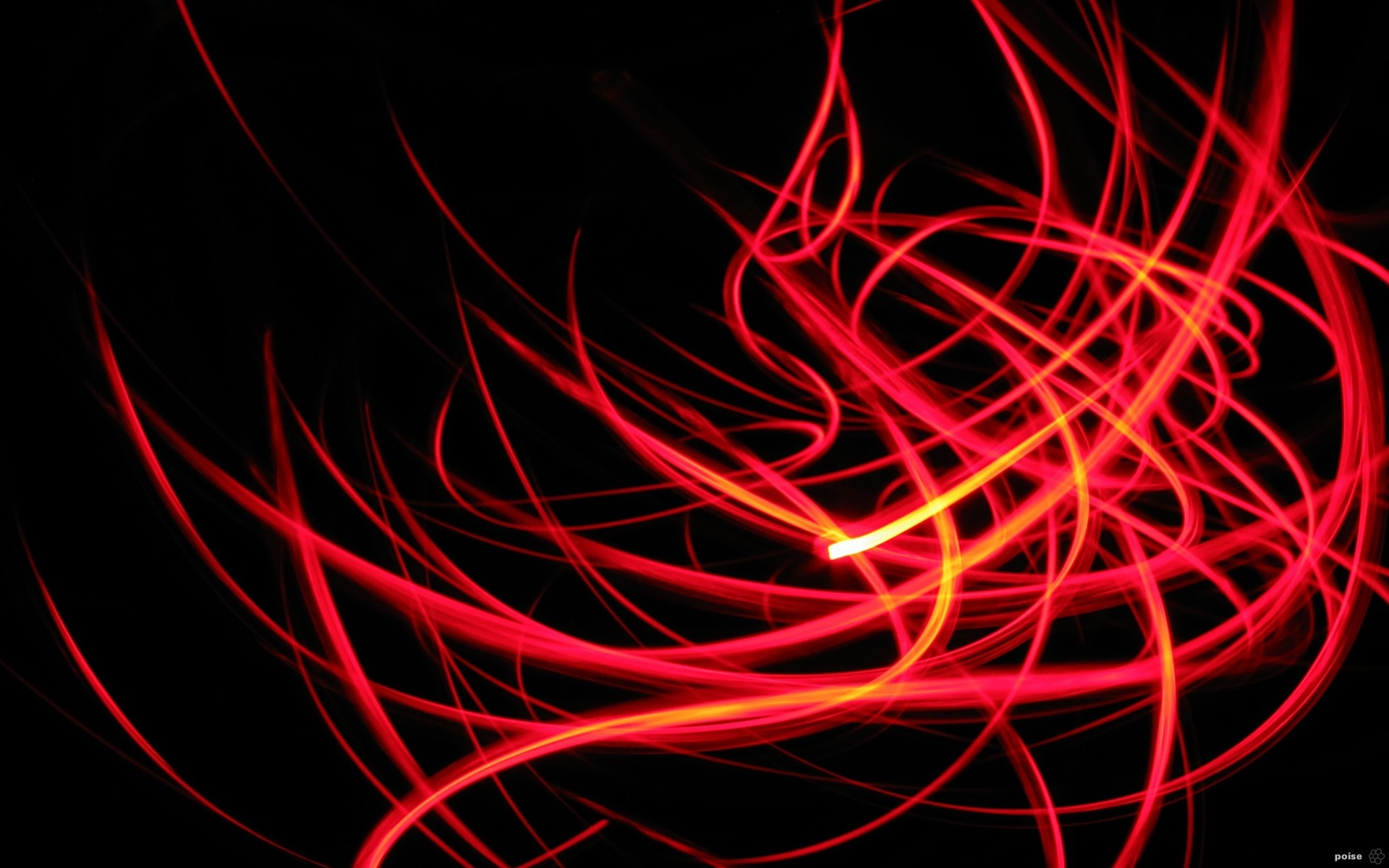 red abstract pic
