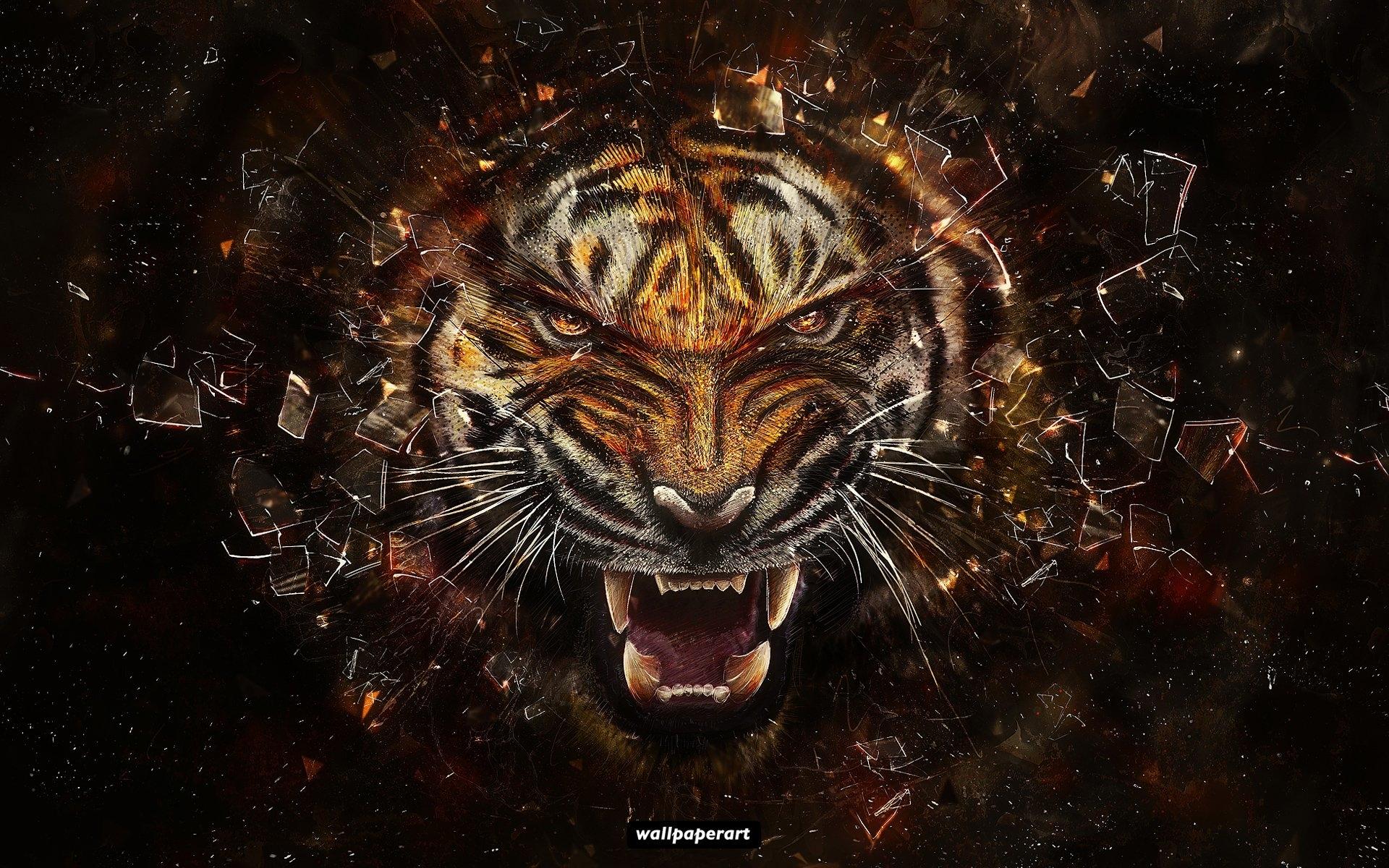 tiger hd deskto