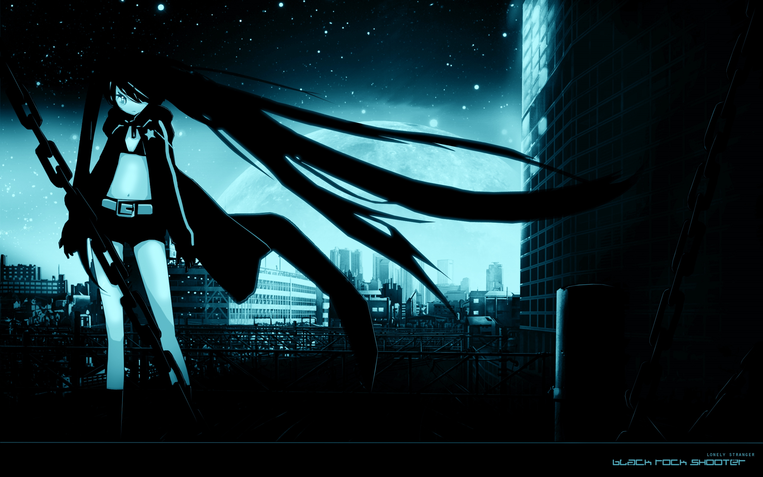 black rock shooter desktopp wallpaper