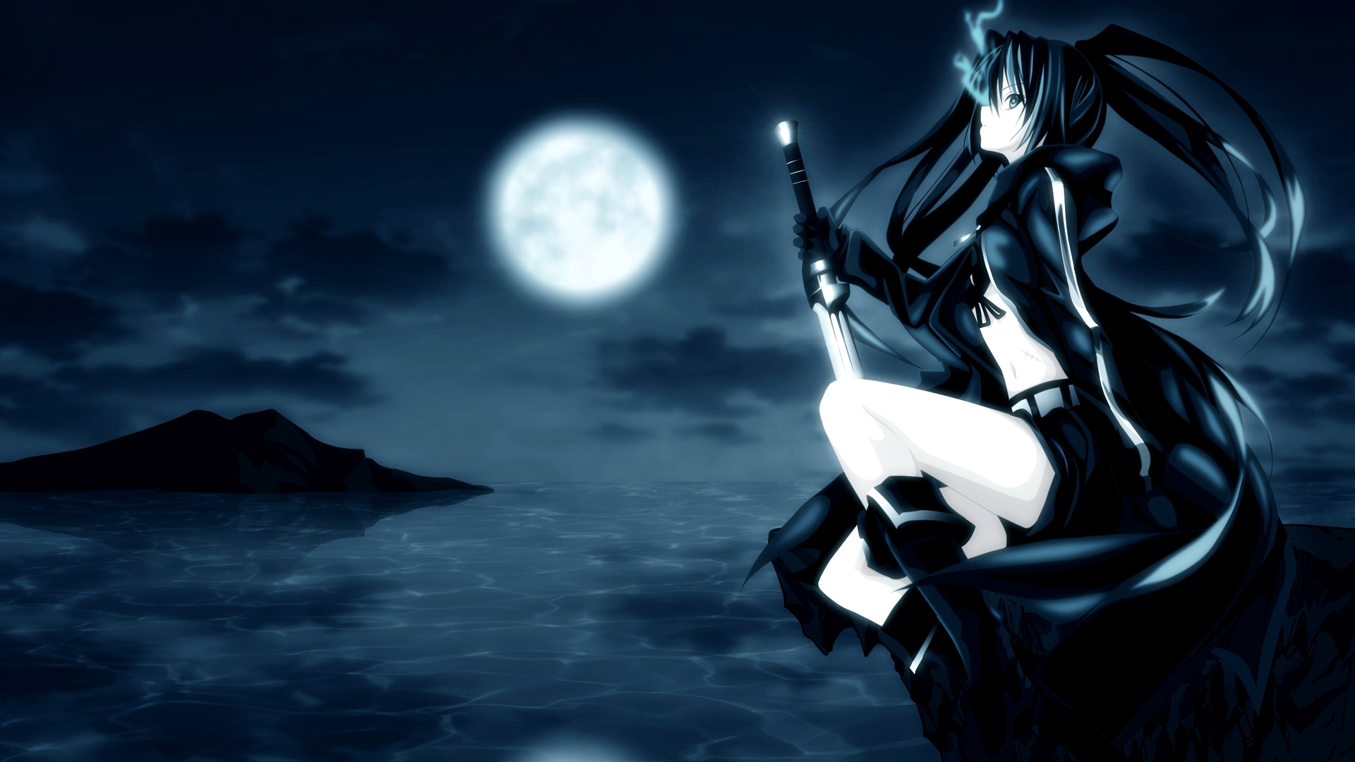 black rock shooter free download