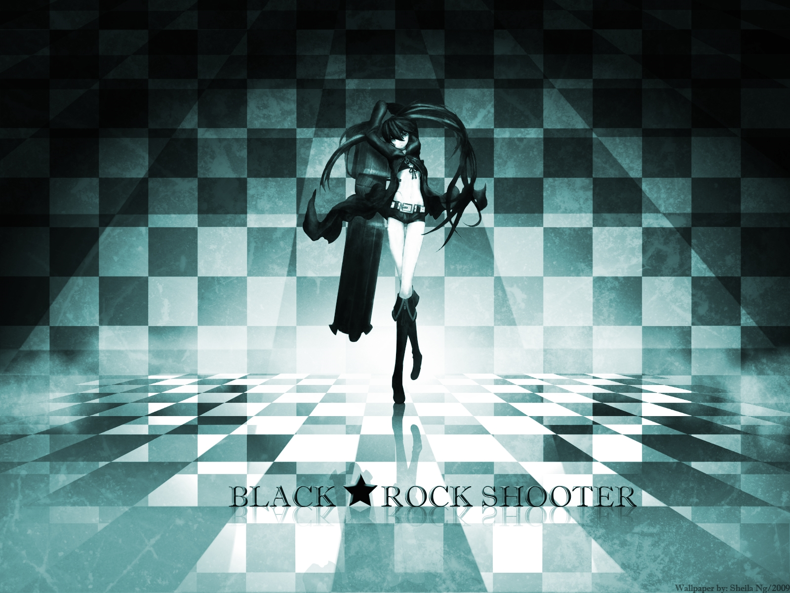 black rock shooter free
