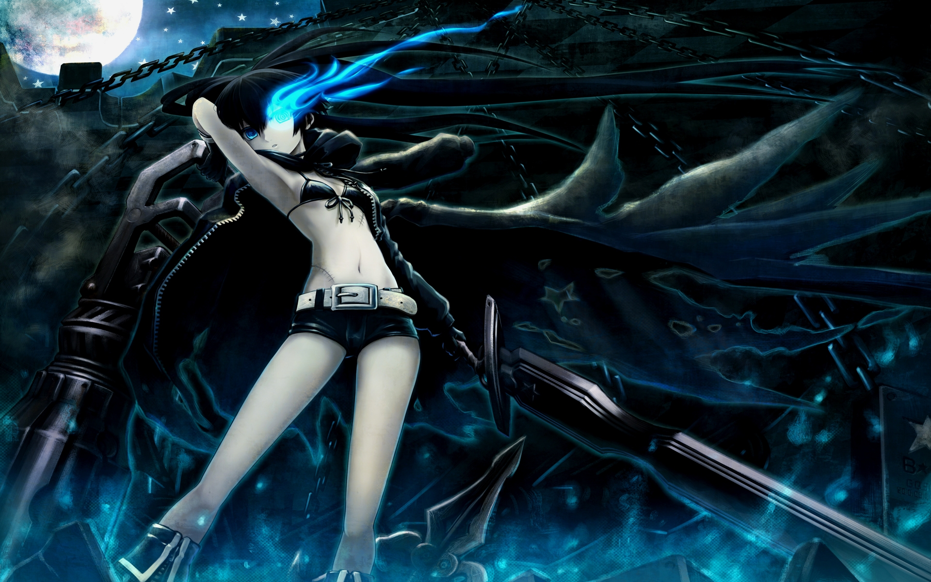 black rock shooter full hd