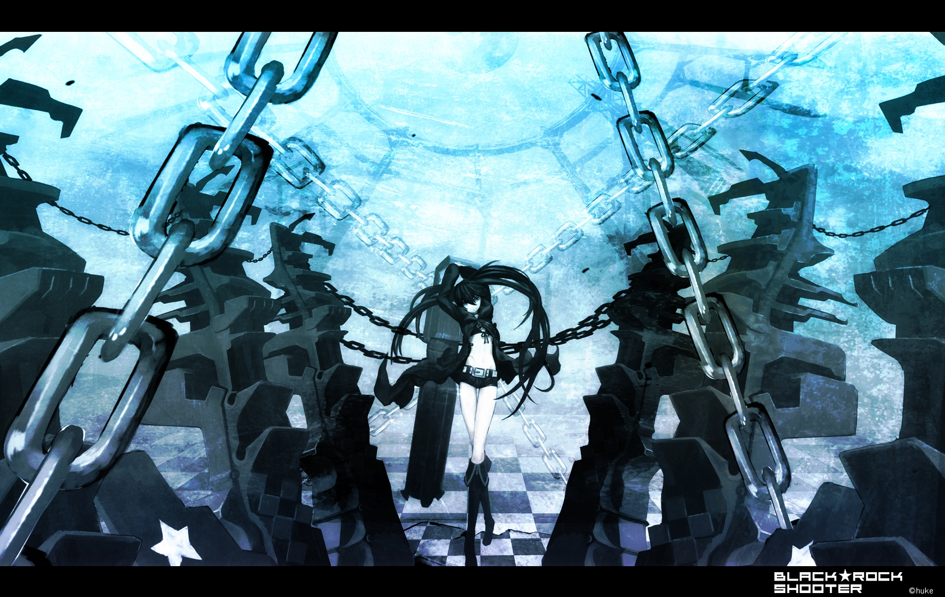 black rock shooter hd deskto