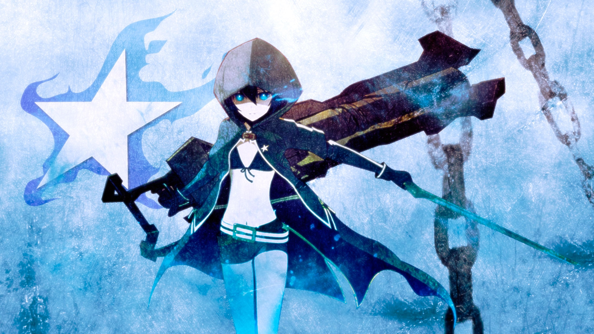 black rock shooter hd photos