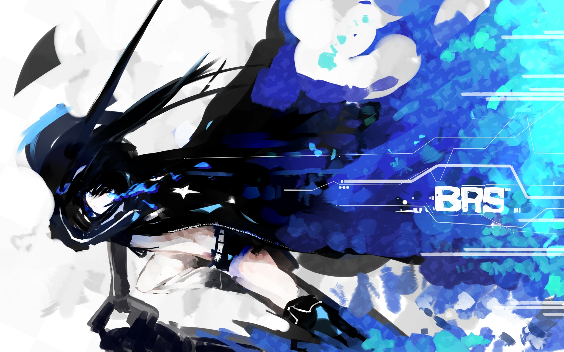black rock shooter high definition wallpapers