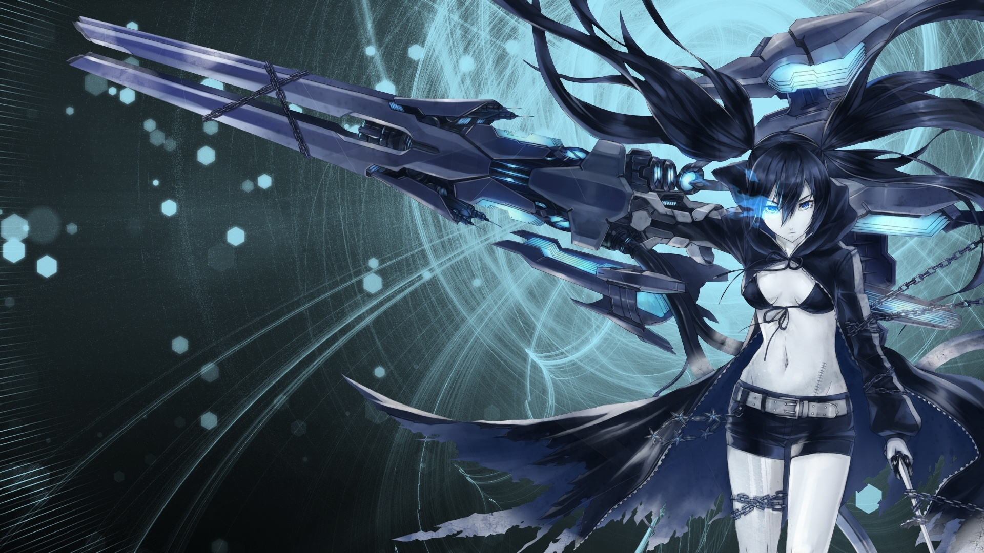black rock shooter new wallpapers