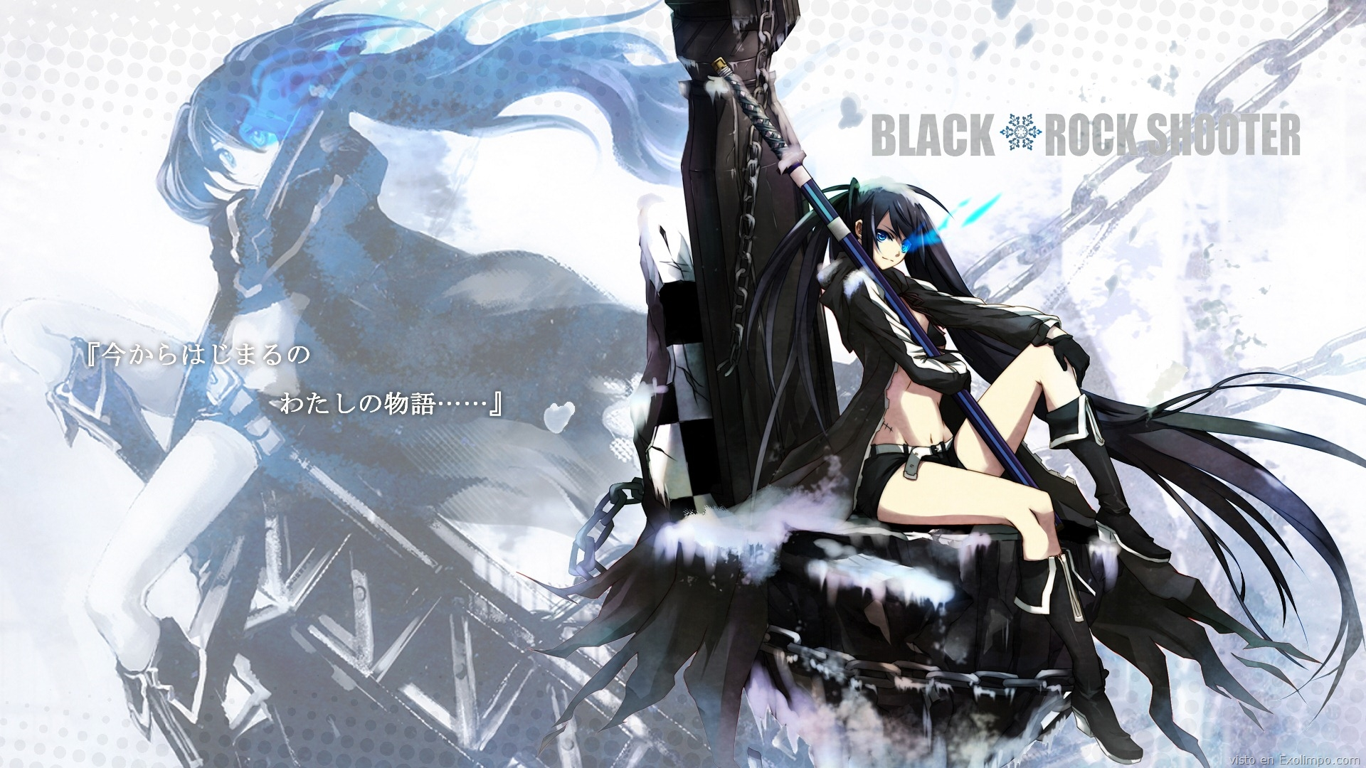 black rock shooter pic