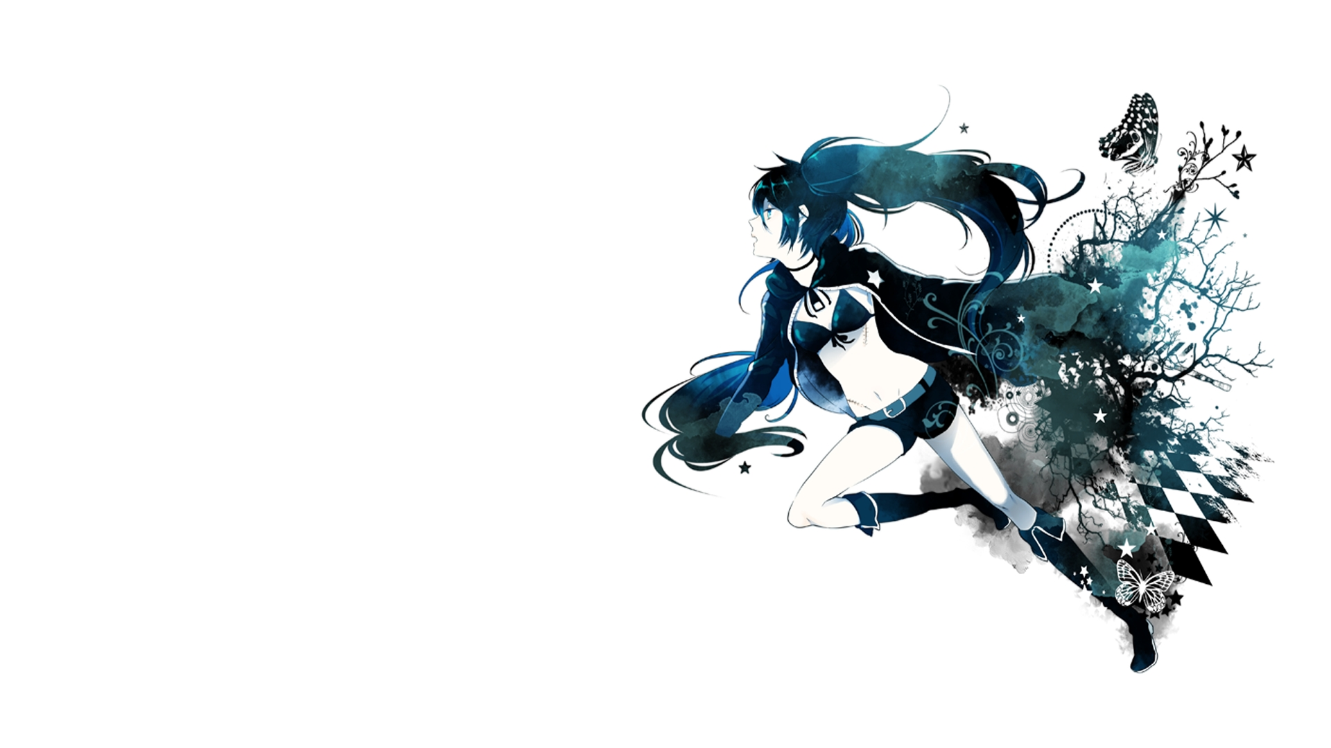 black rock shooter pics