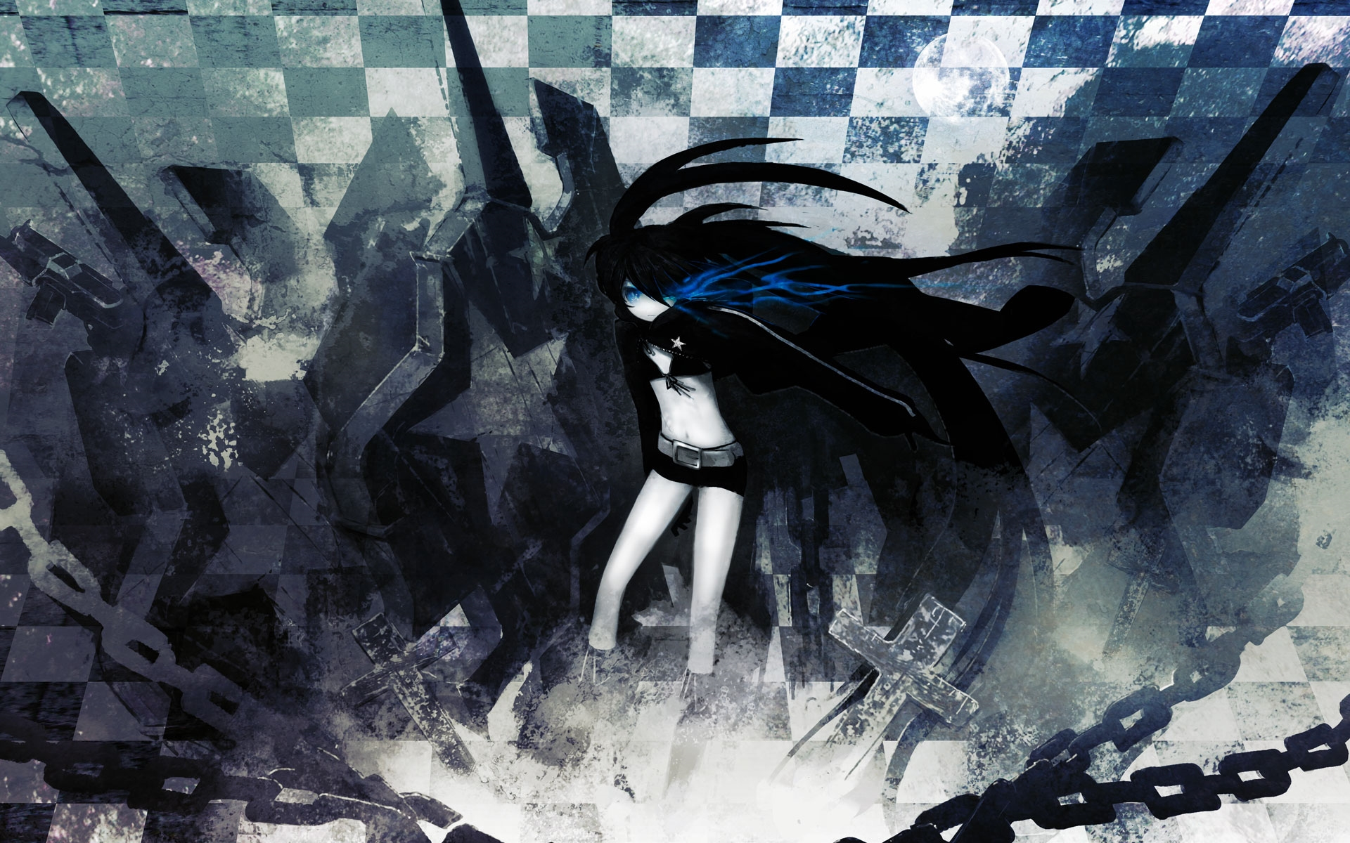 black rock shooter pictures