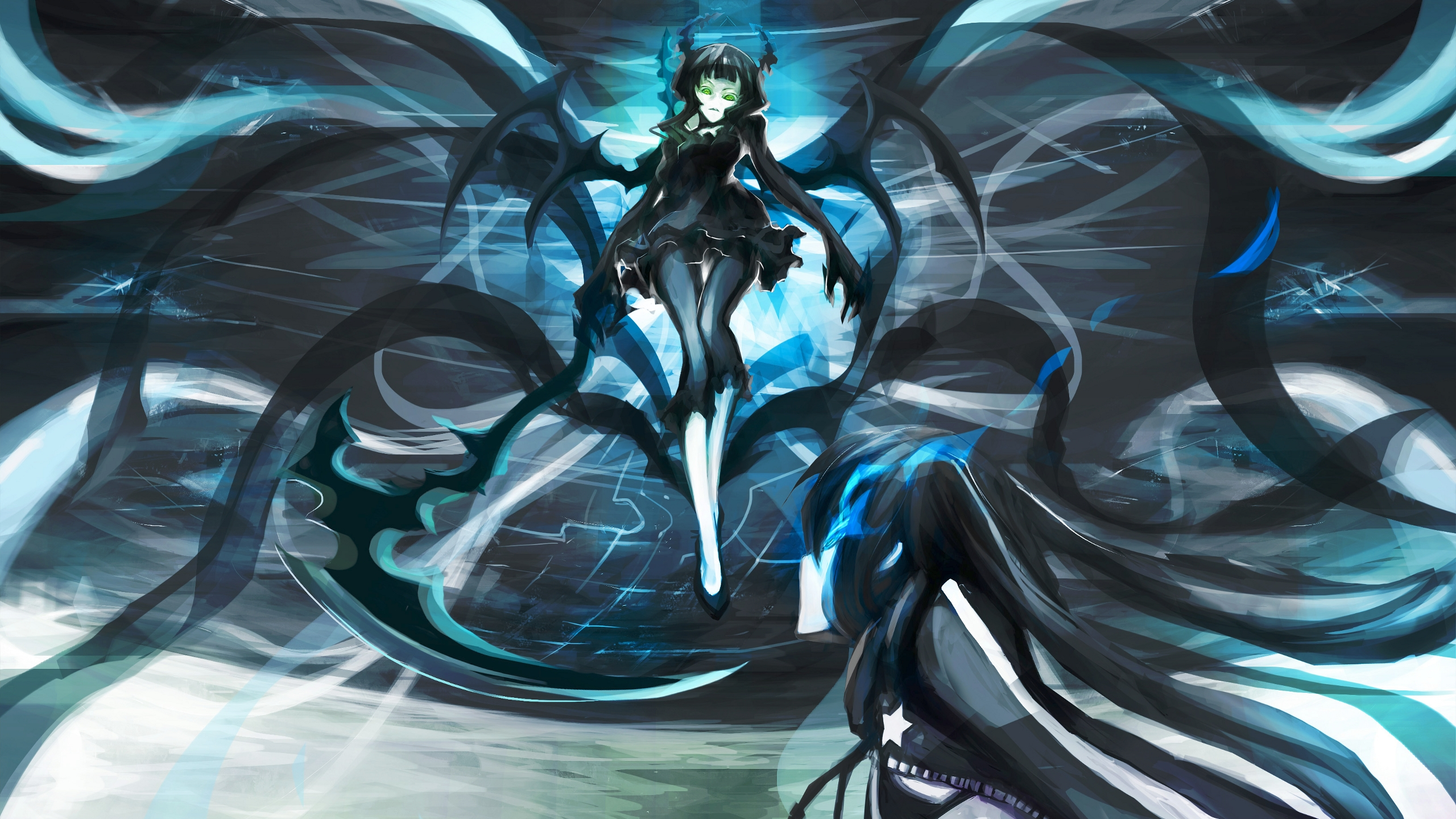 New background images environment free wallpaper - Black Rock Shooter Pic