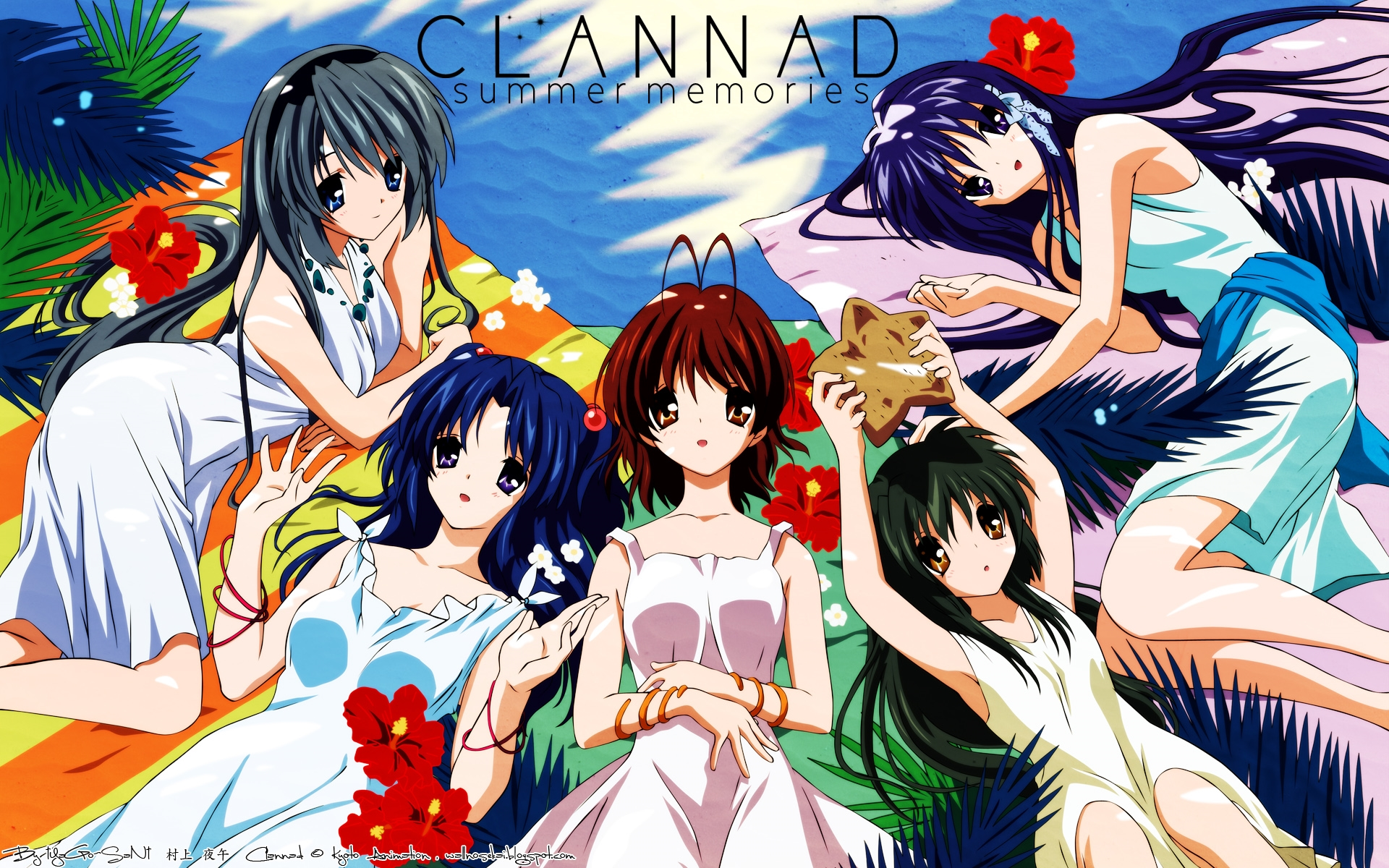 clannad hd background