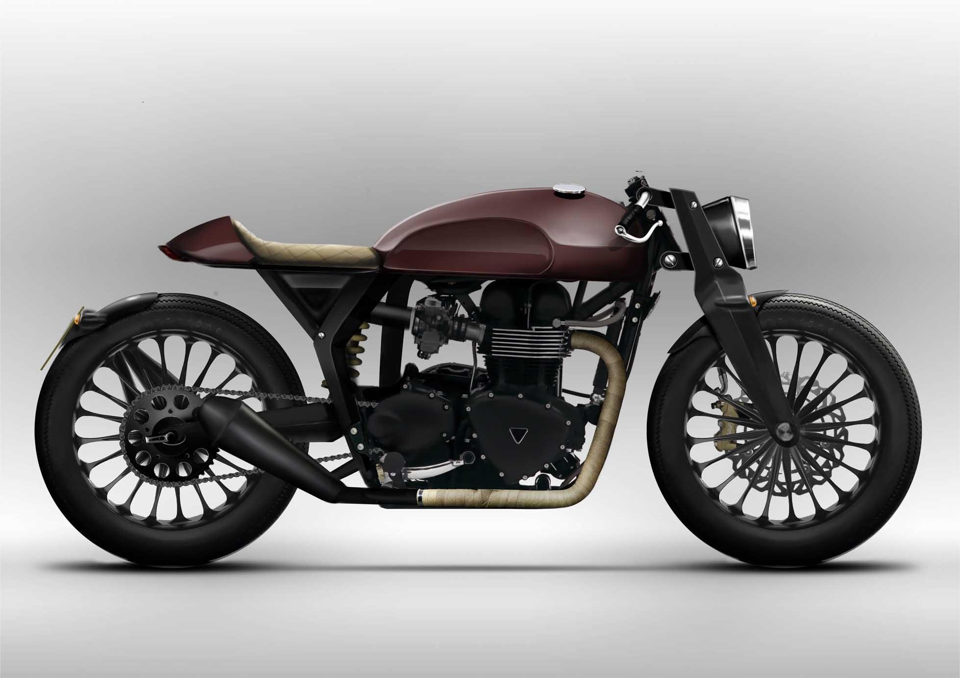 bobber motorcycle hd wallpaper