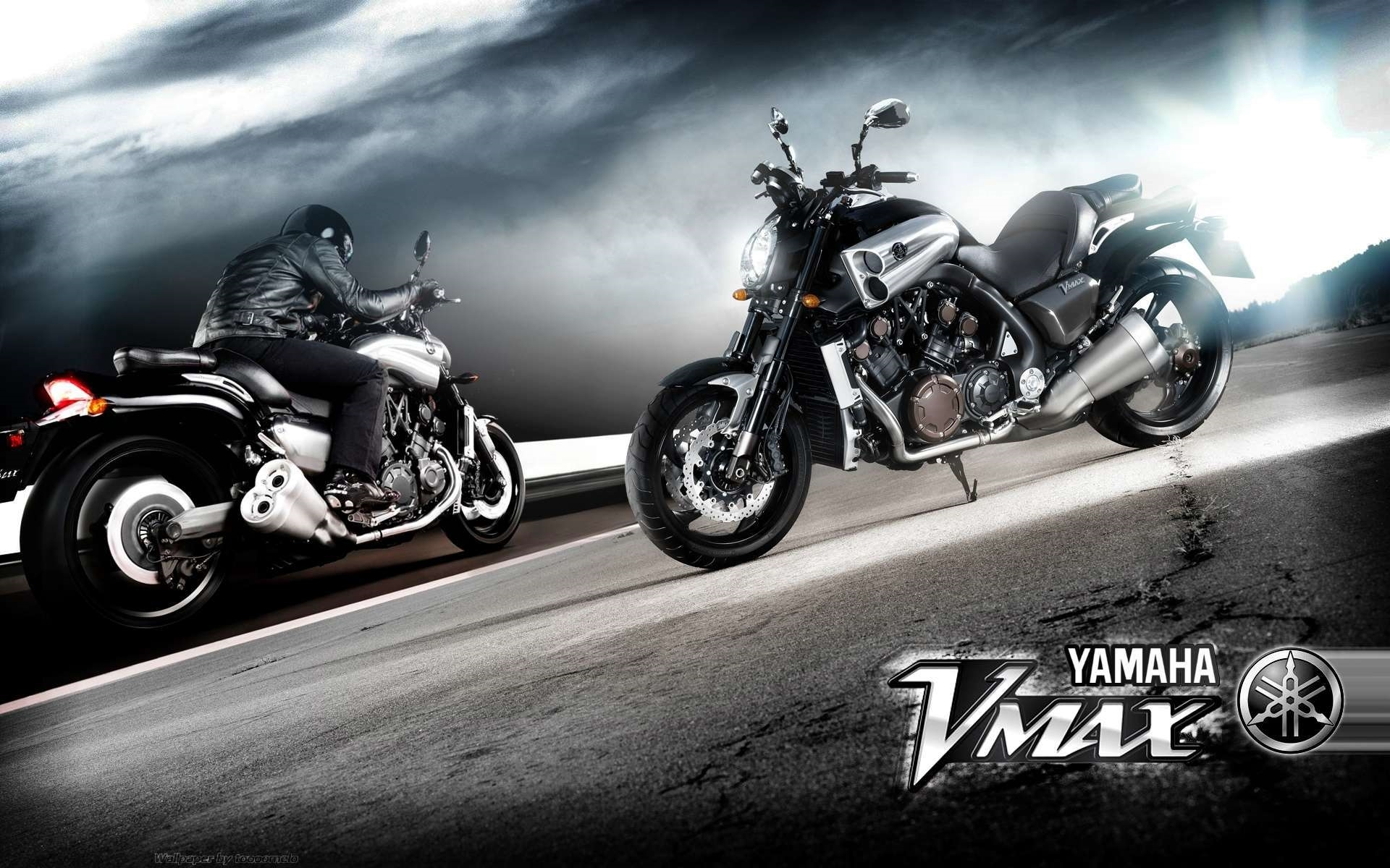 yamaha v max wallpapers