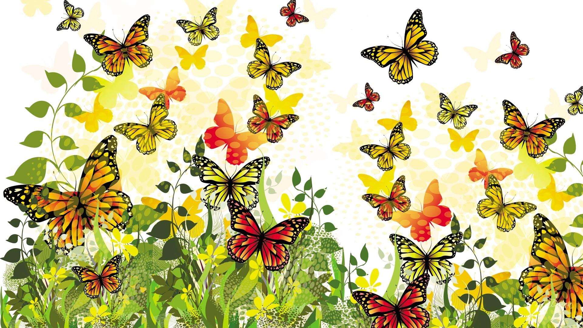 Butterflies wallpapers free download for Sfondi con farfalle
