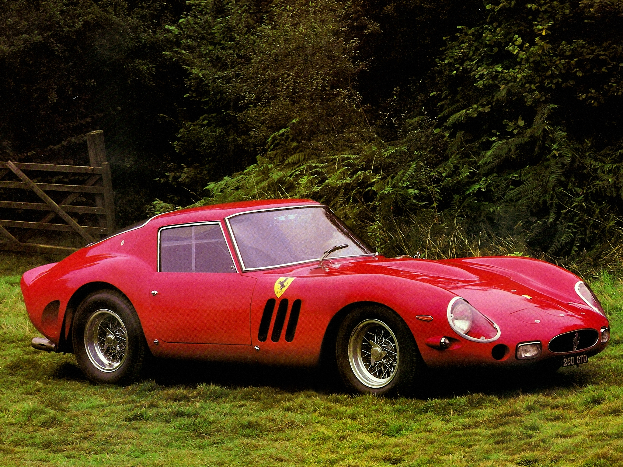ferrari 250 gto desktop wallpaper