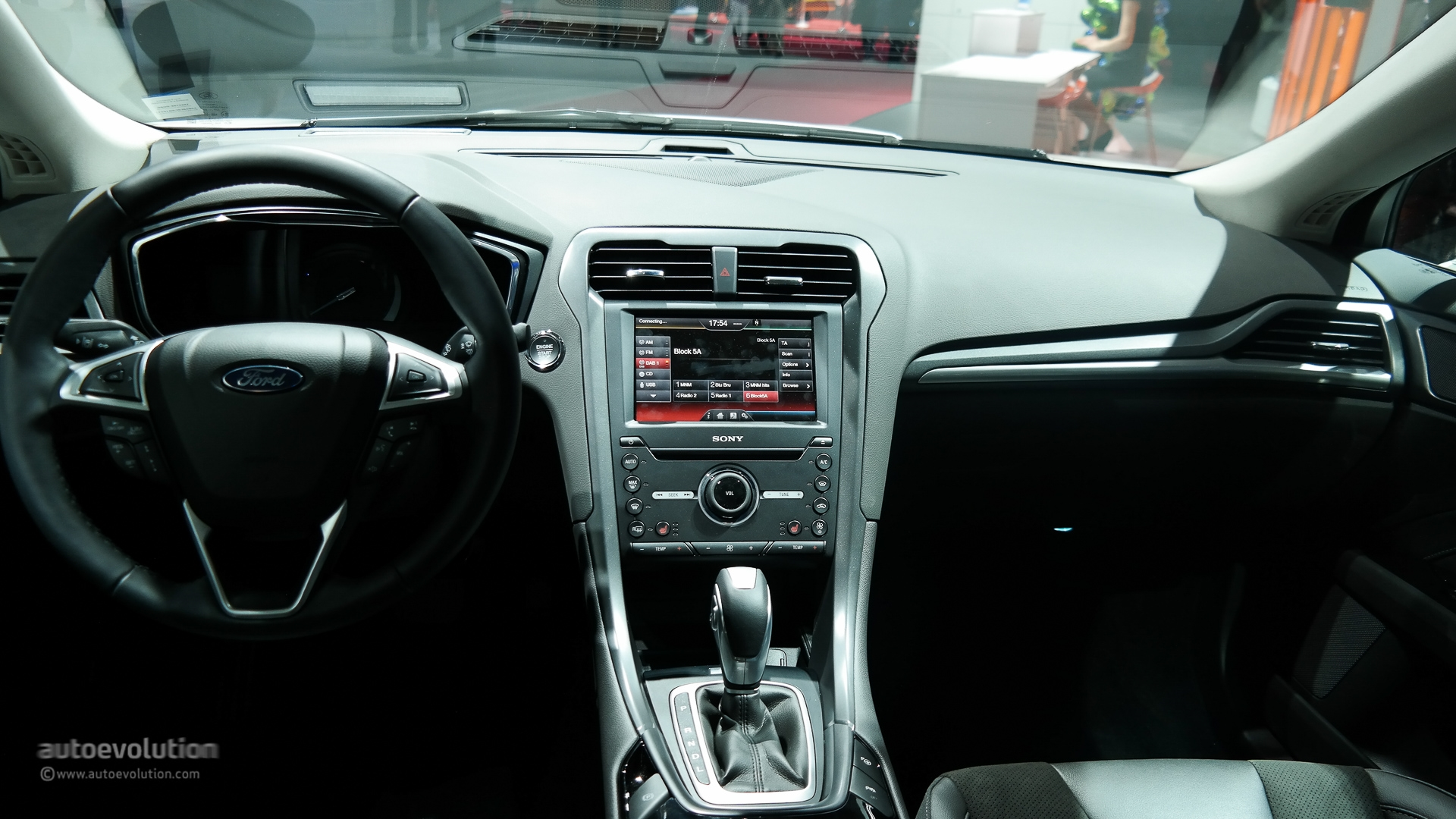 ford mondeo 2015 background