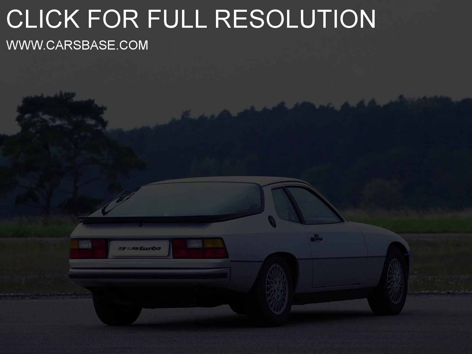 porsche 924 background