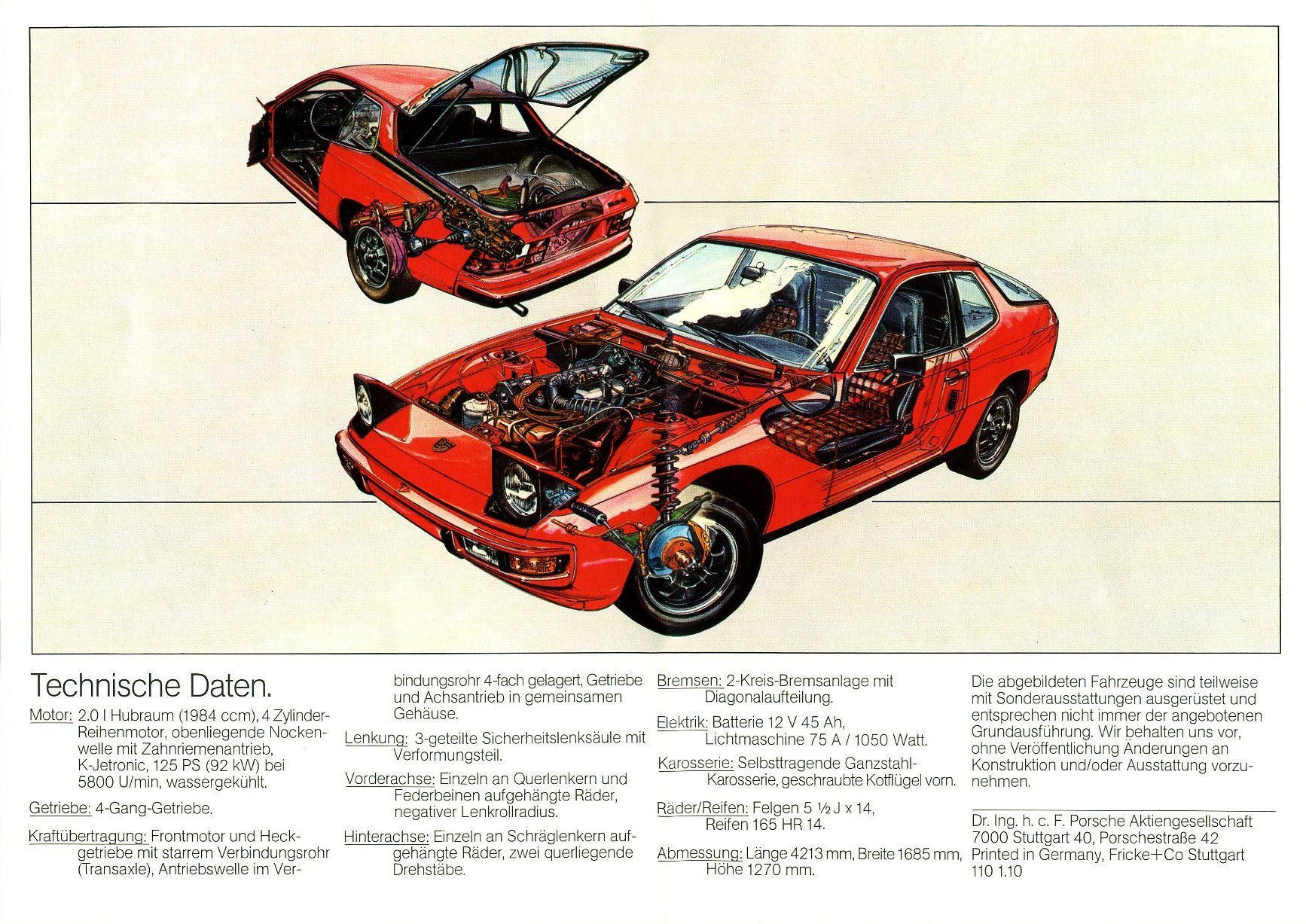 porsche 924 hd photos