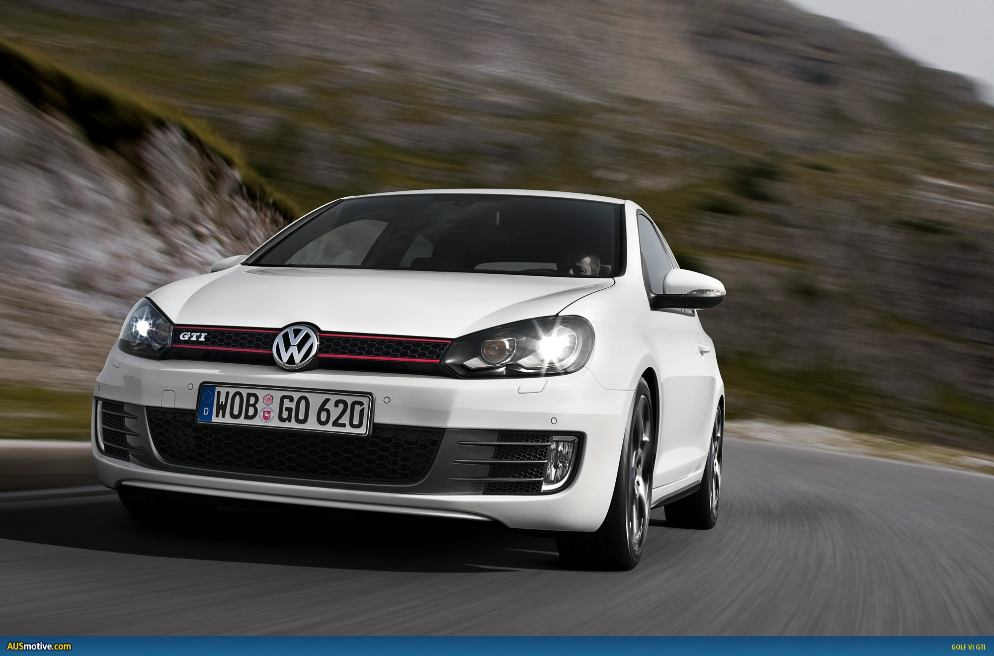 volkswagen golf gti desktop wallpaper