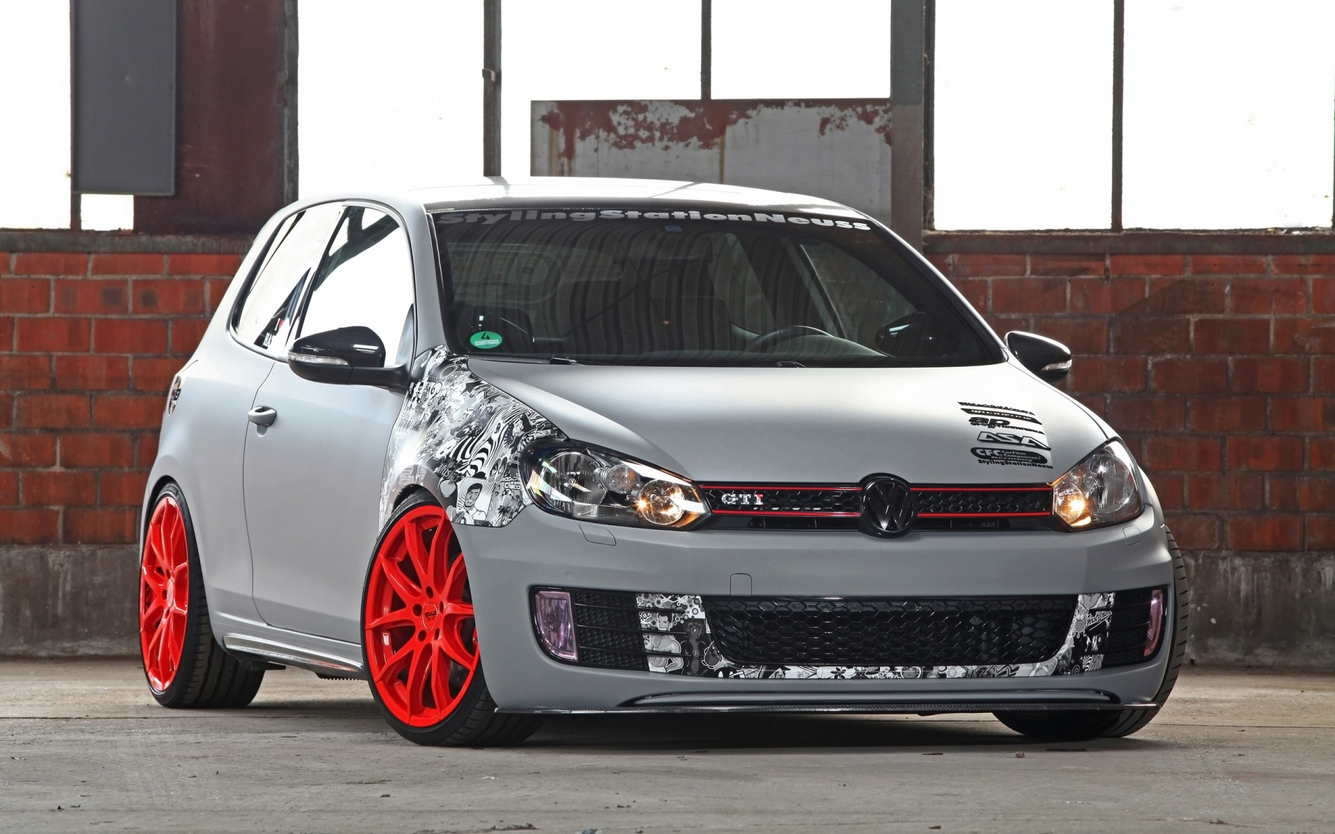 volkswagen golf gti hd photos