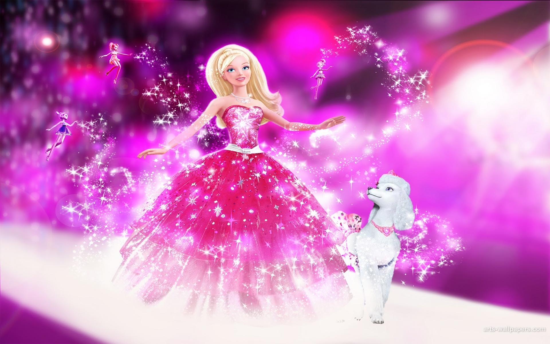 barbie angel disney hd free wallpaper