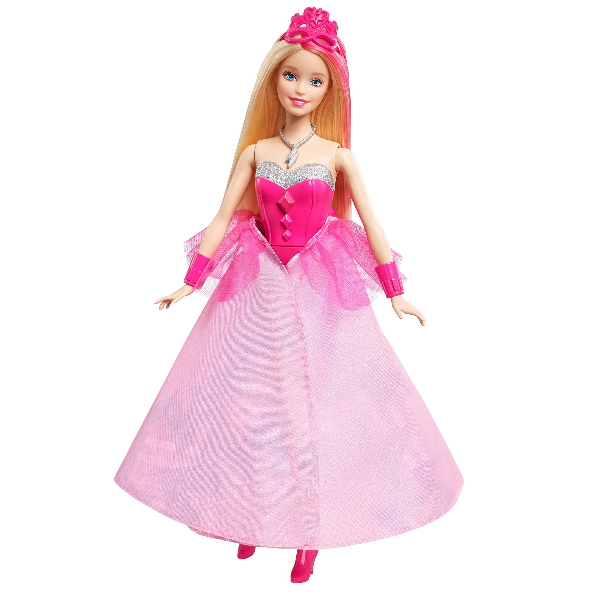 barbie princess power super sparkle corinne doll image