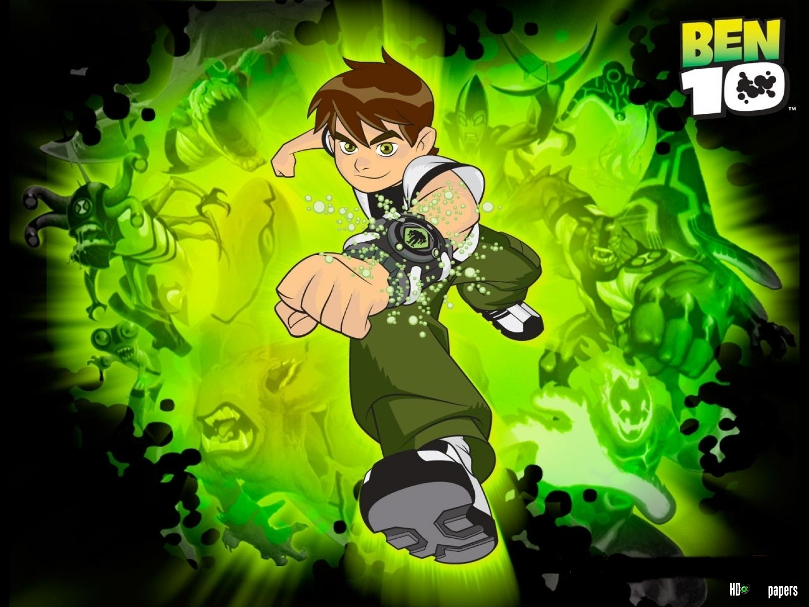 ben 10 cartoon wallpapers free download