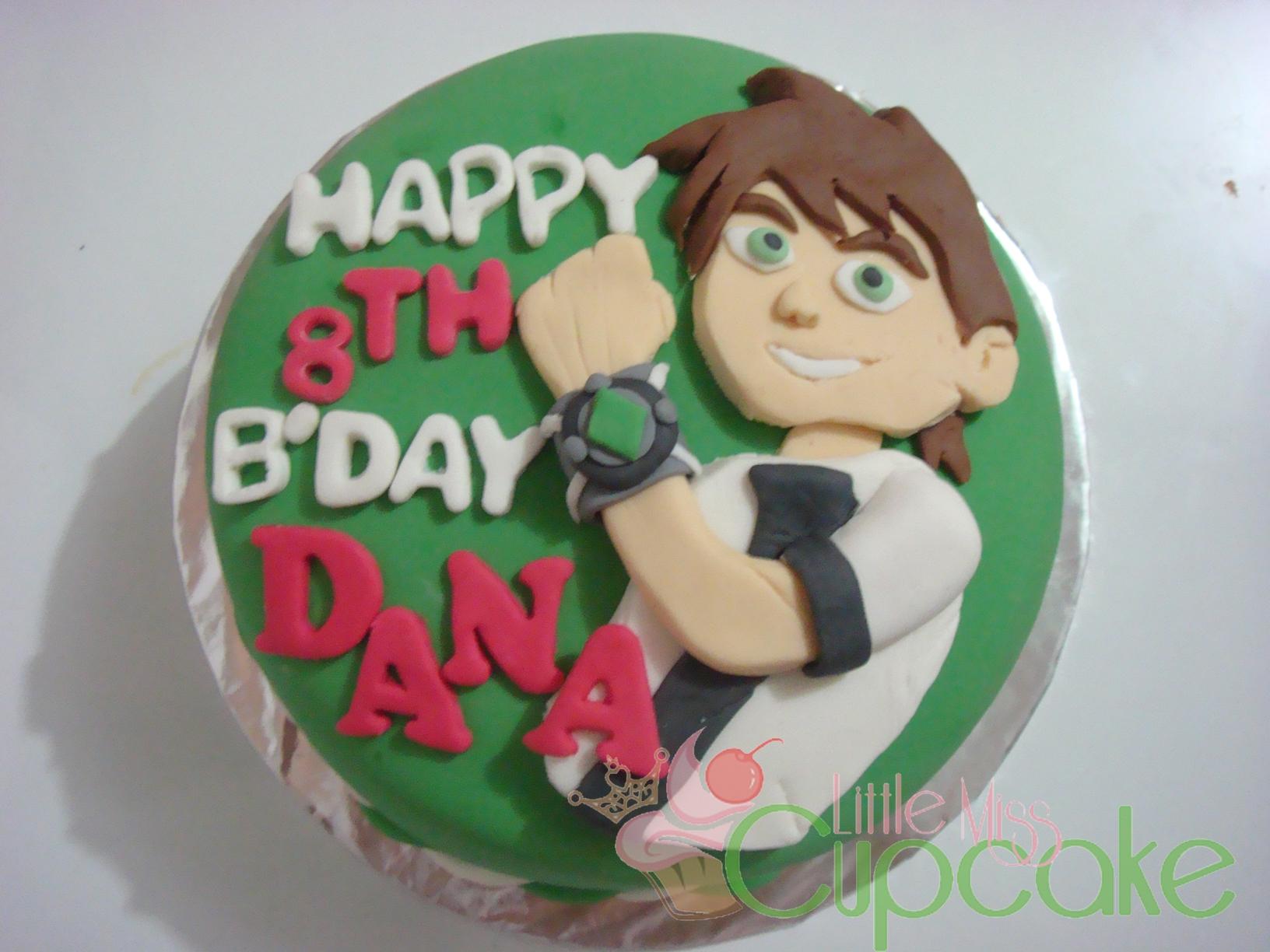 ben 10 fondant cake birthday