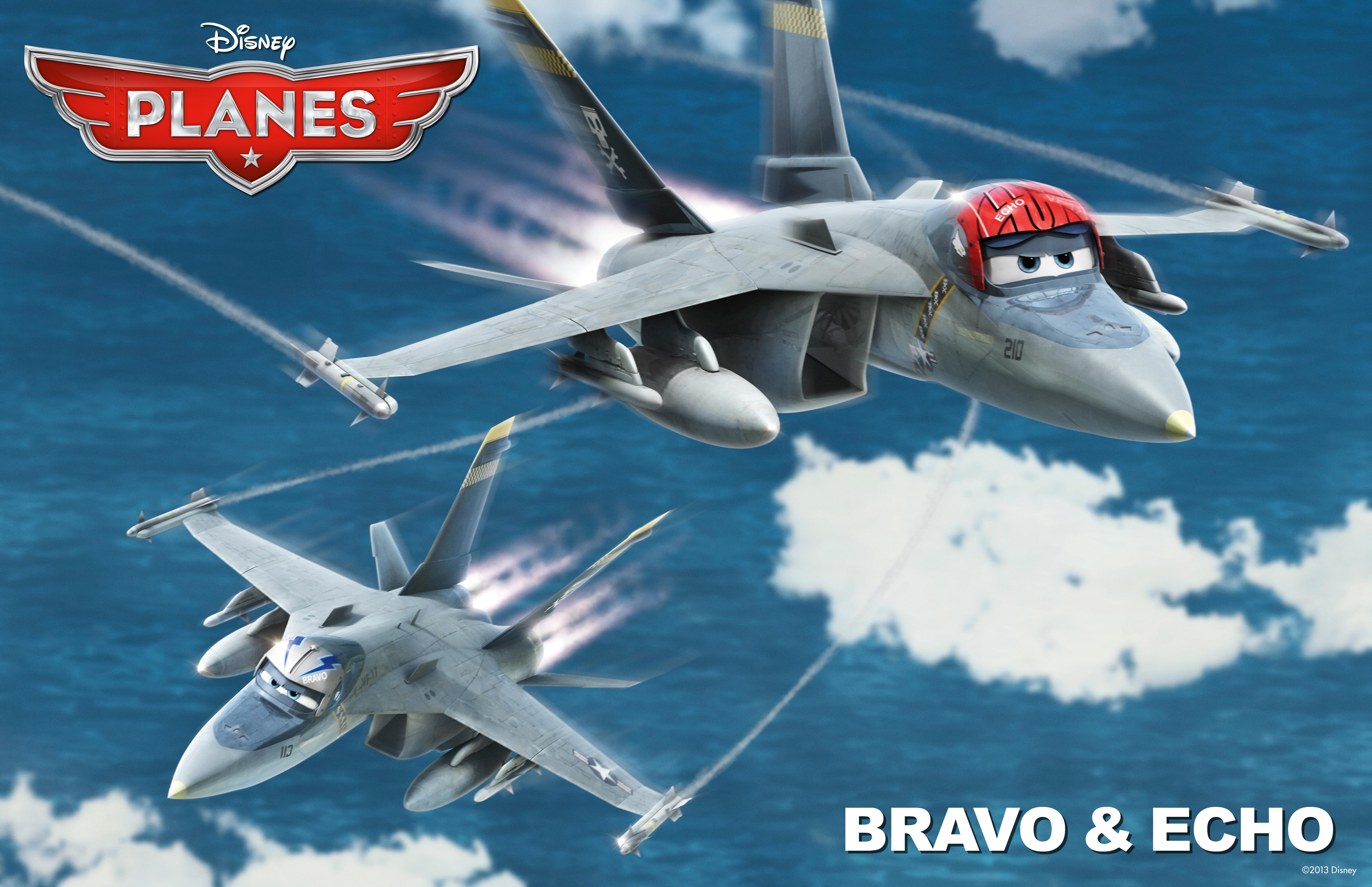 bravo echo disney pixar planes free hd wallpaper