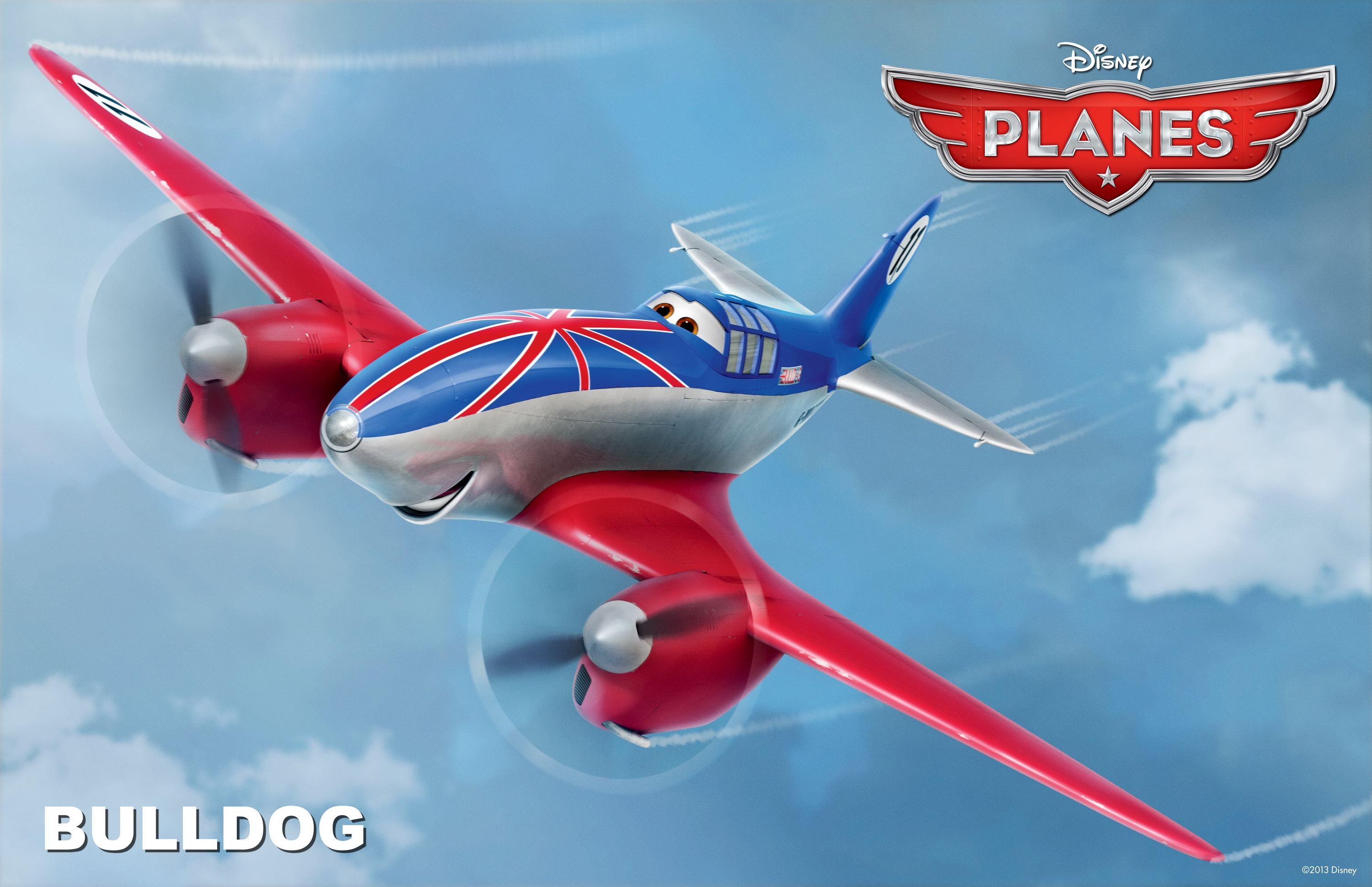 bulldog disney pixar planes free hd wallpaper