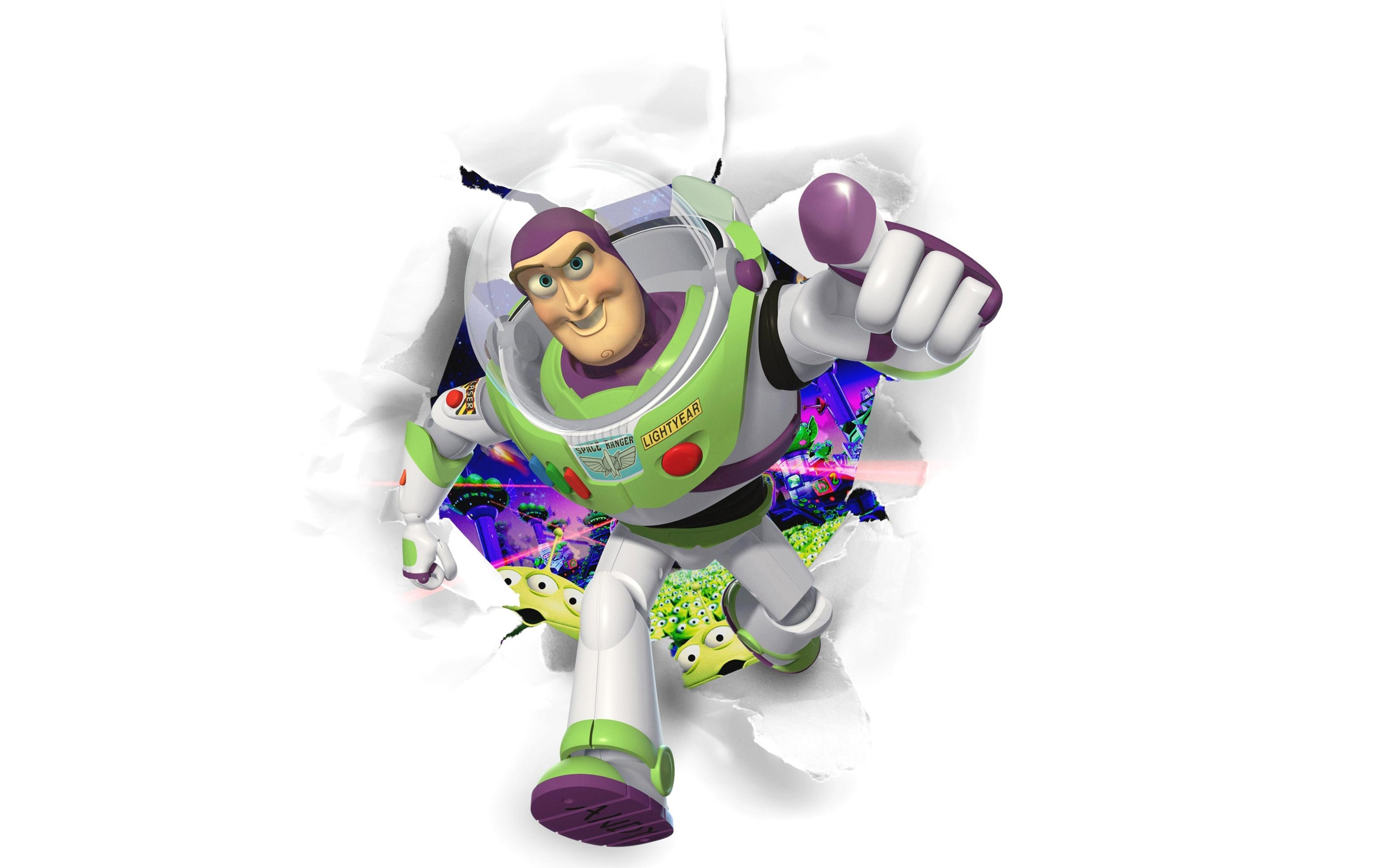 buzz light year toy story wallpaper