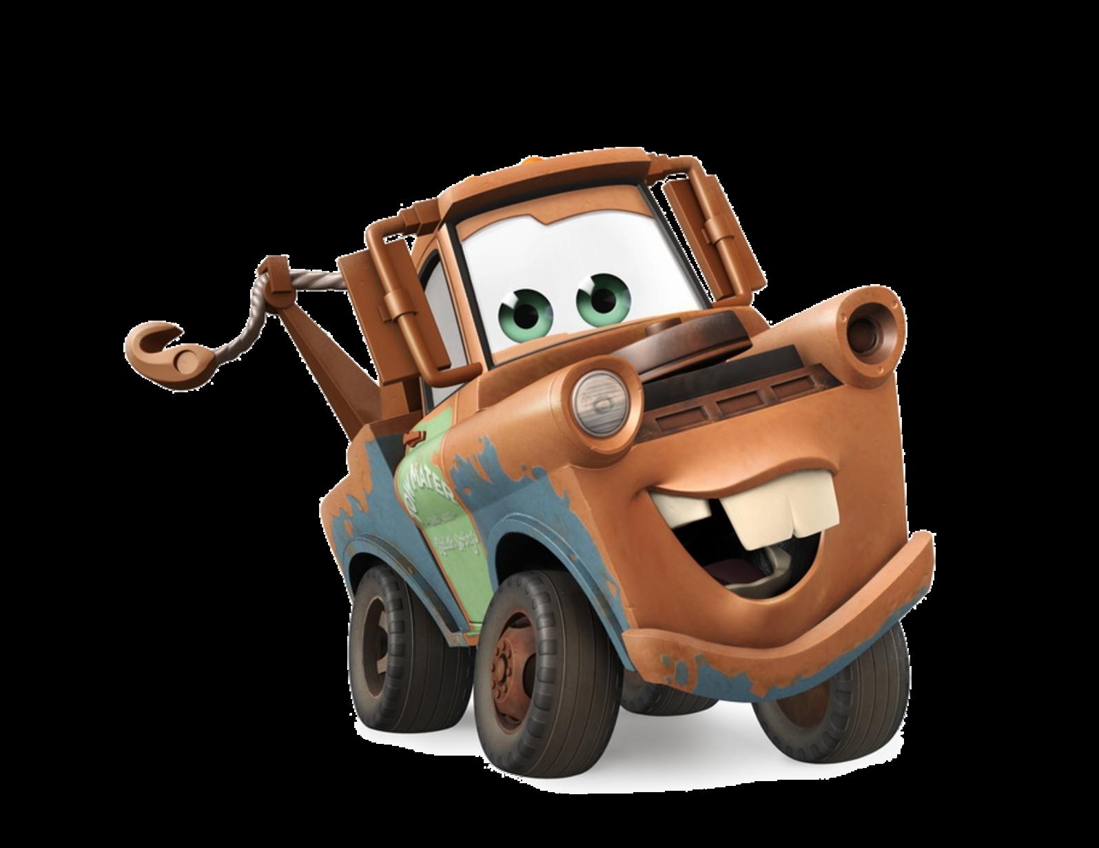cars 1 2 mater disney infinity render